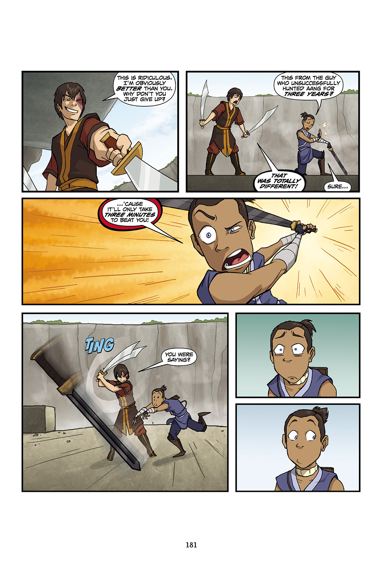 Nickelodeon Avatar: The Last Airbender - The Lost Adventures chap full pic 182