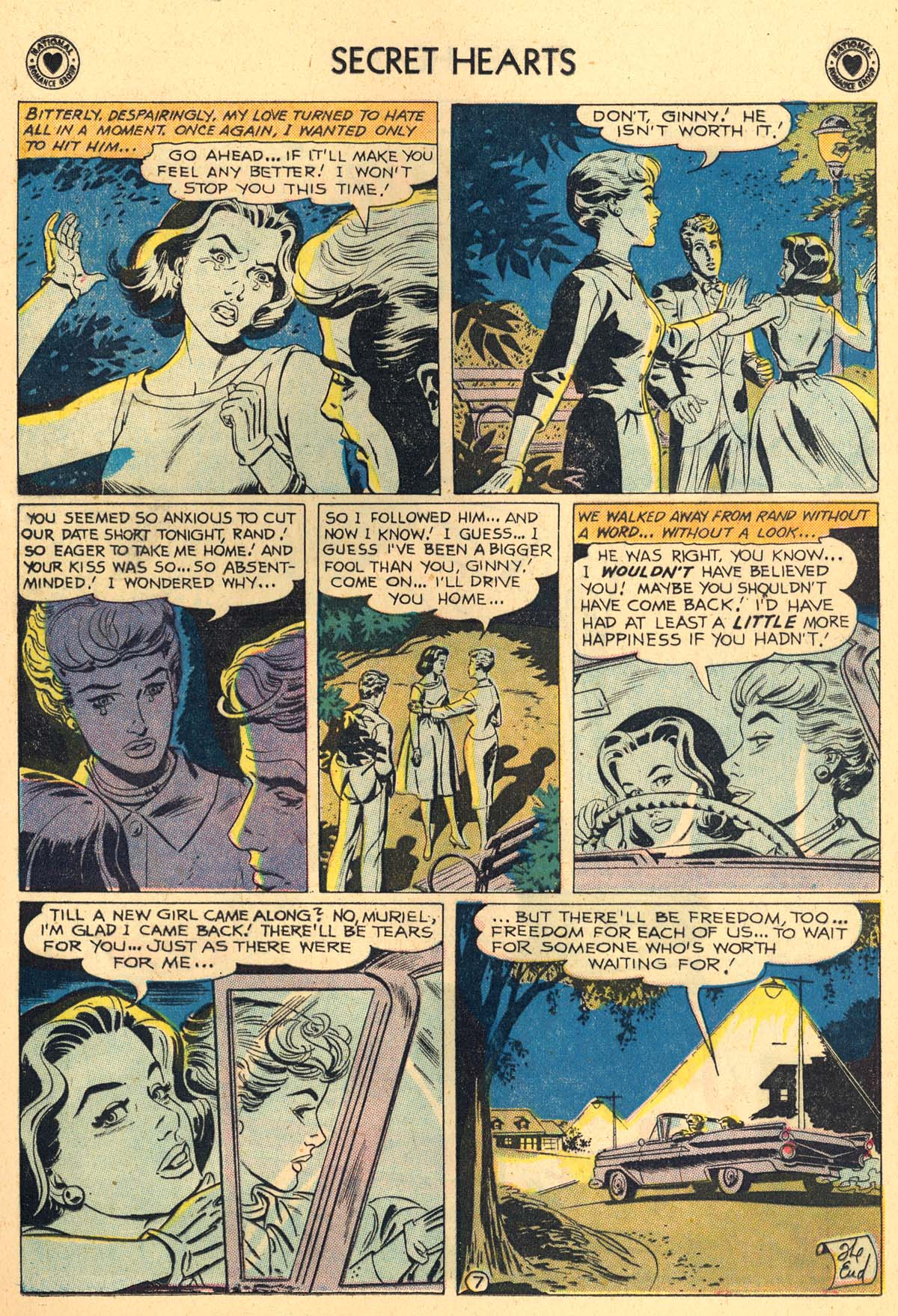 Read online Secret Hearts comic -  Issue #62 - 9