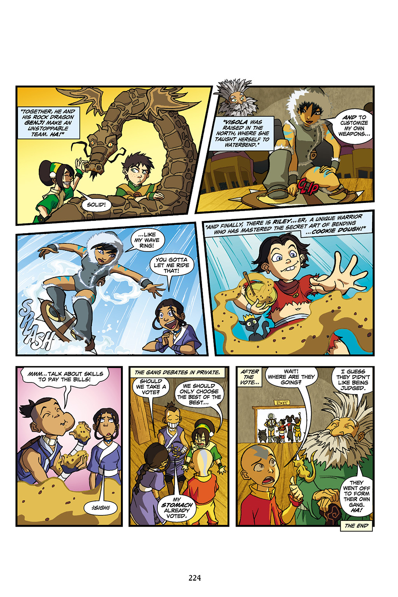 Nickelodeon Avatar: The Last Airbender - The Lost Adventures chap full pic 225