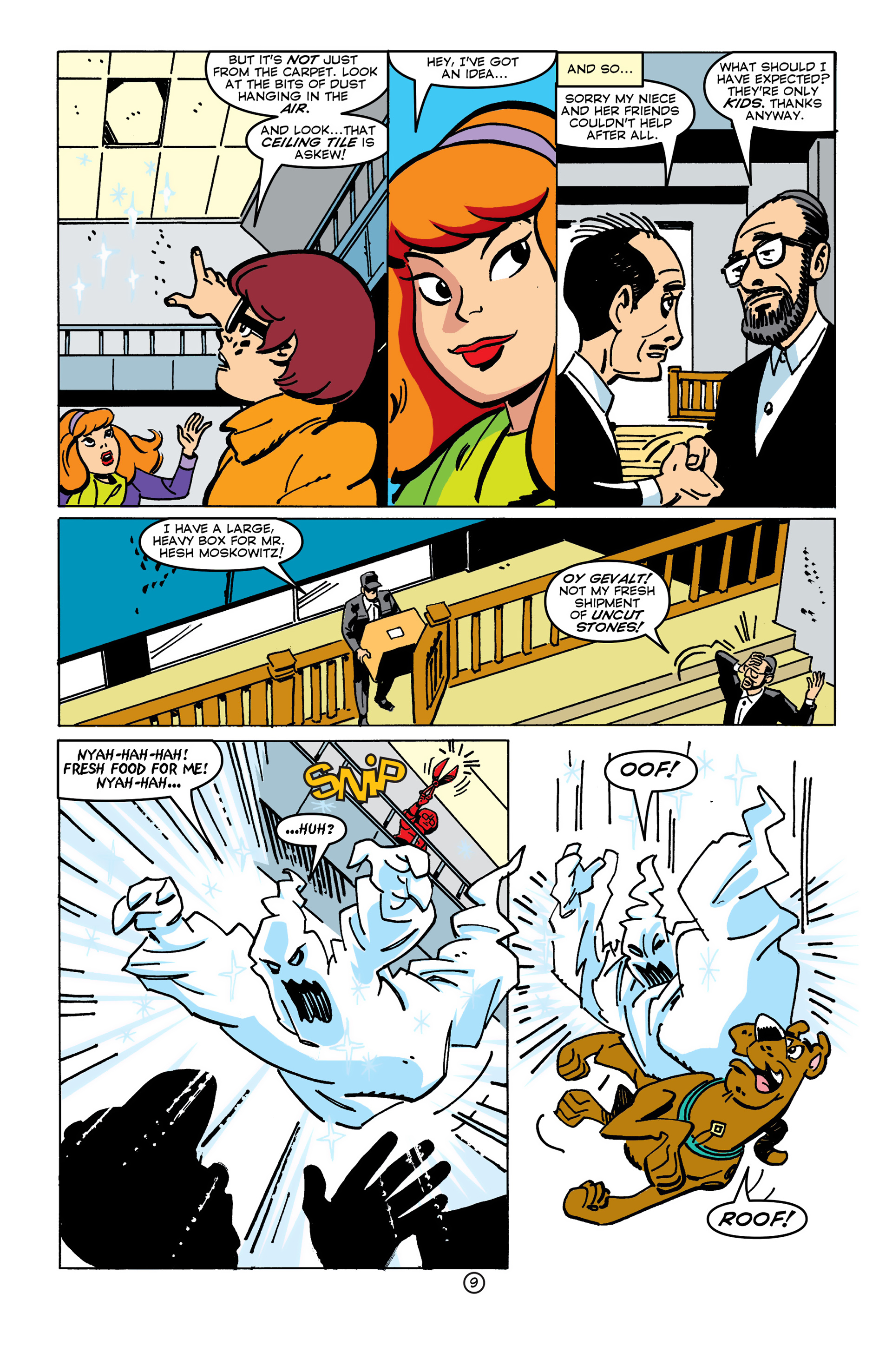Read online Scooby-Doo (1997) comic -  Issue #45 - 9