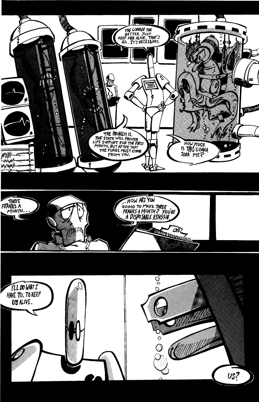 Read online Scud: The Disposable Assassin (1994) comic -  Issue #2 - 6