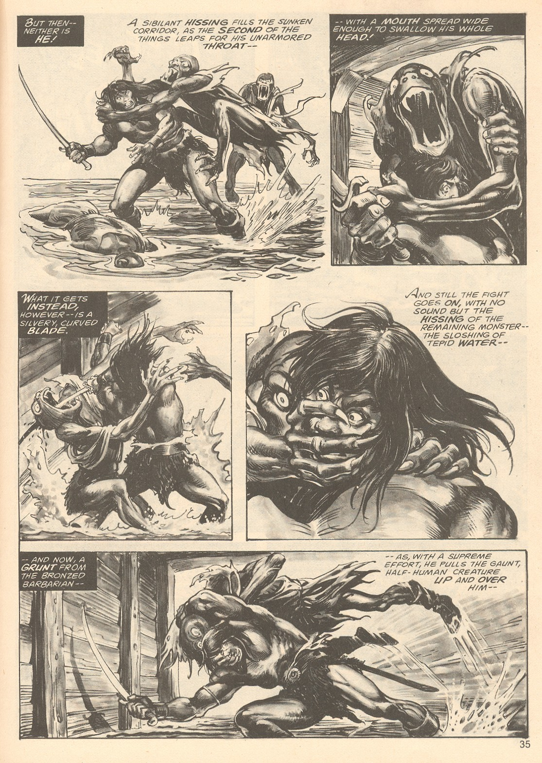The Savage Sword Of Conan Issue #67 #68 - English 35