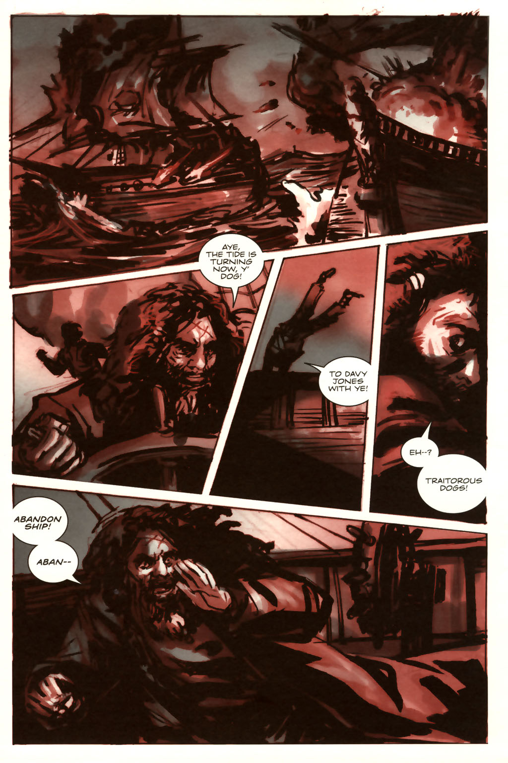 Read online Sea of Red comic -  Issue #9 - 21