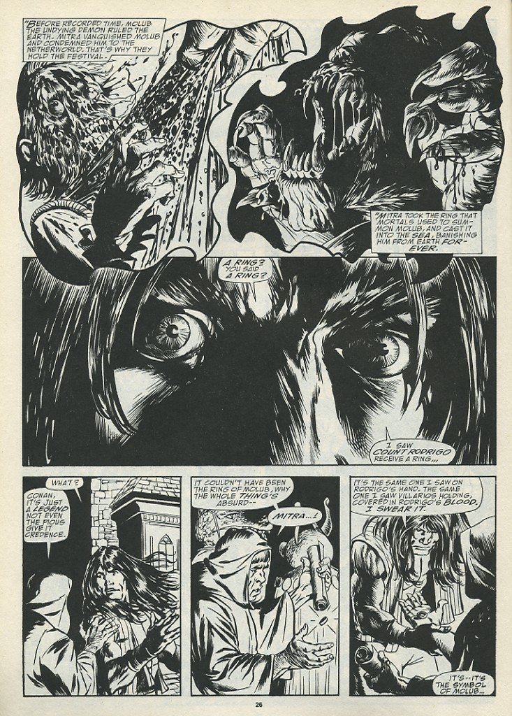 The Savage Sword Of Conan Issue #185 #186 - English 28