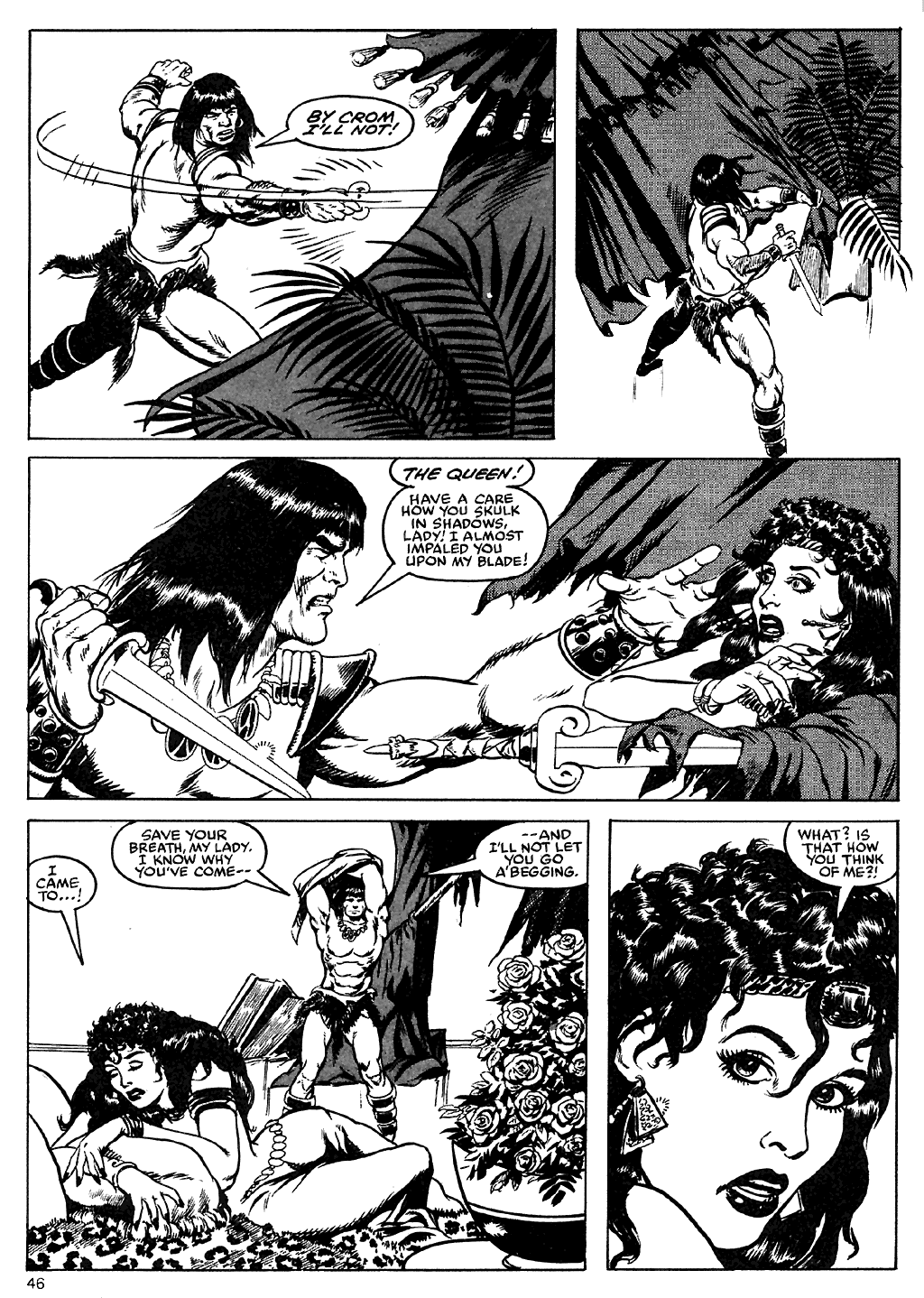 The Savage Sword Of Conan Issue #110 #111 - English 44