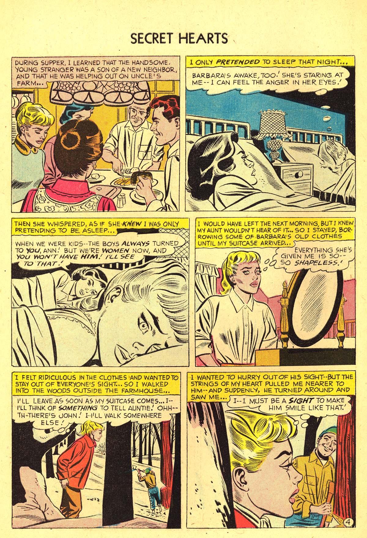 Read online Secret Hearts comic -  Issue #37 - 30