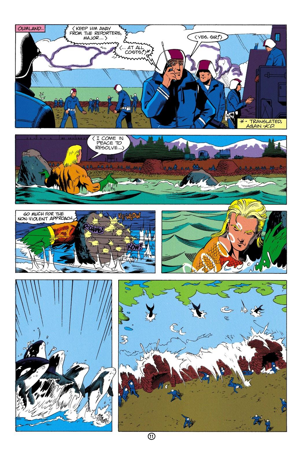 Aquaman (1991) Issue #2 #2 - English 12