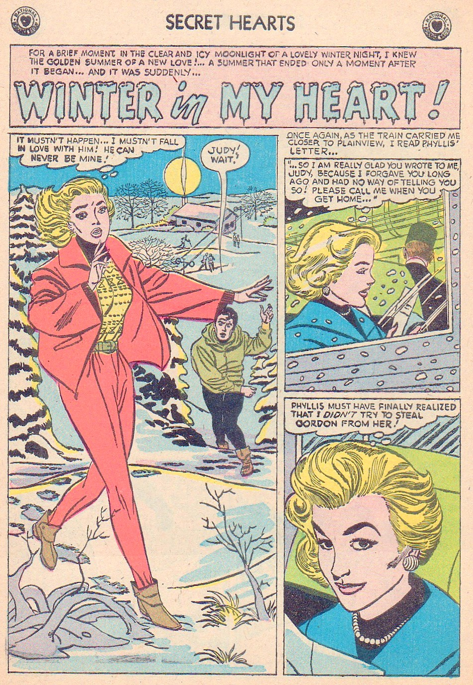 Read online Secret Hearts comic -  Issue #44 - 10