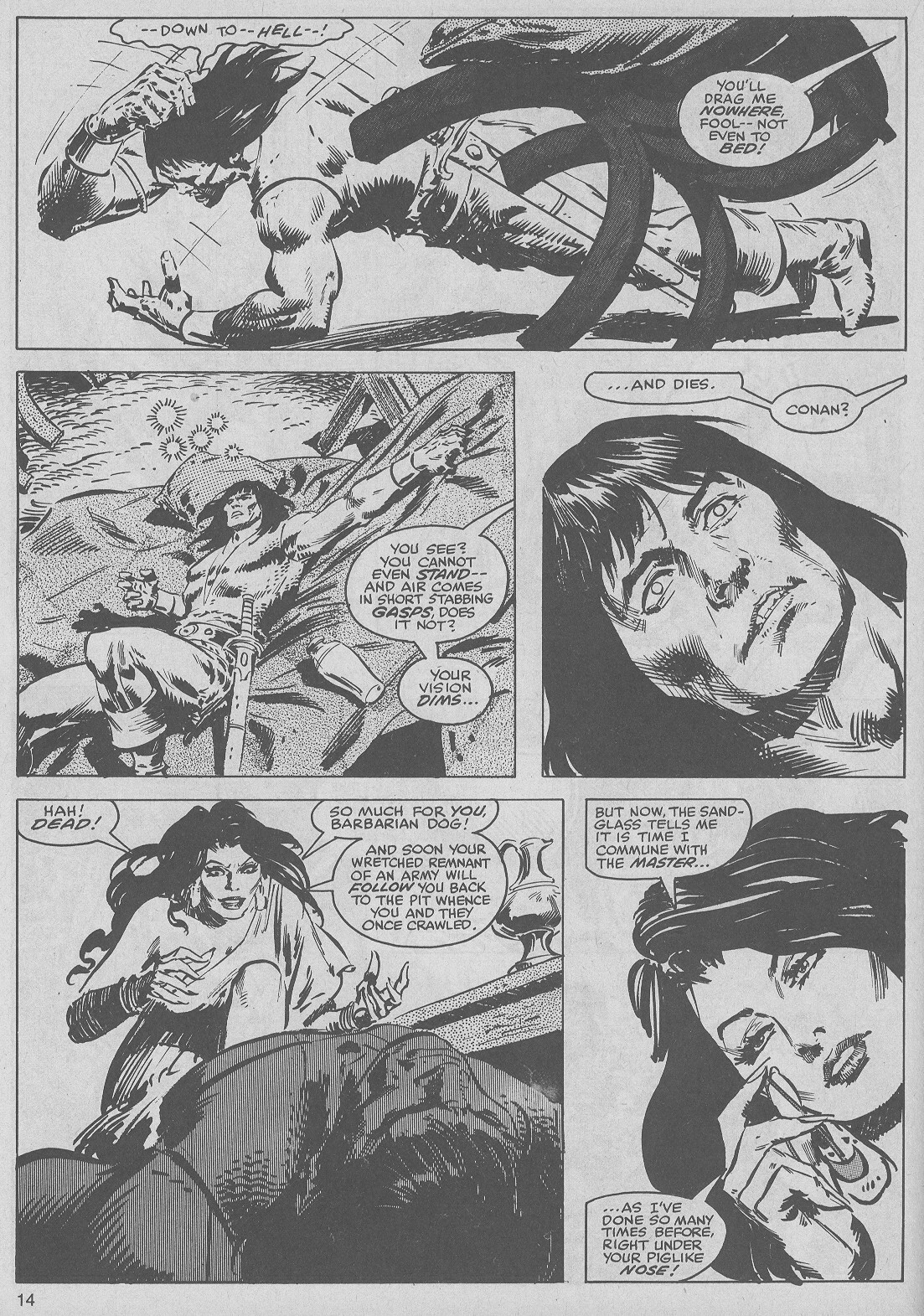 The Savage Sword Of Conan Issue #50 #51 - English 14