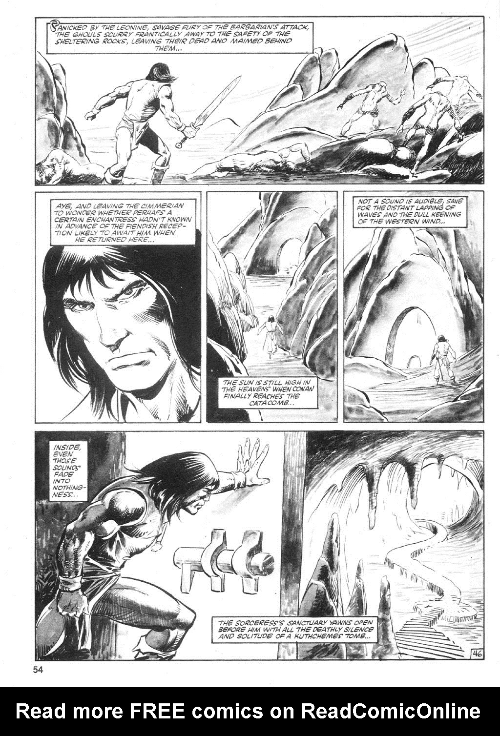 The Savage Sword Of Conan Issue #94 #95 - English 53
