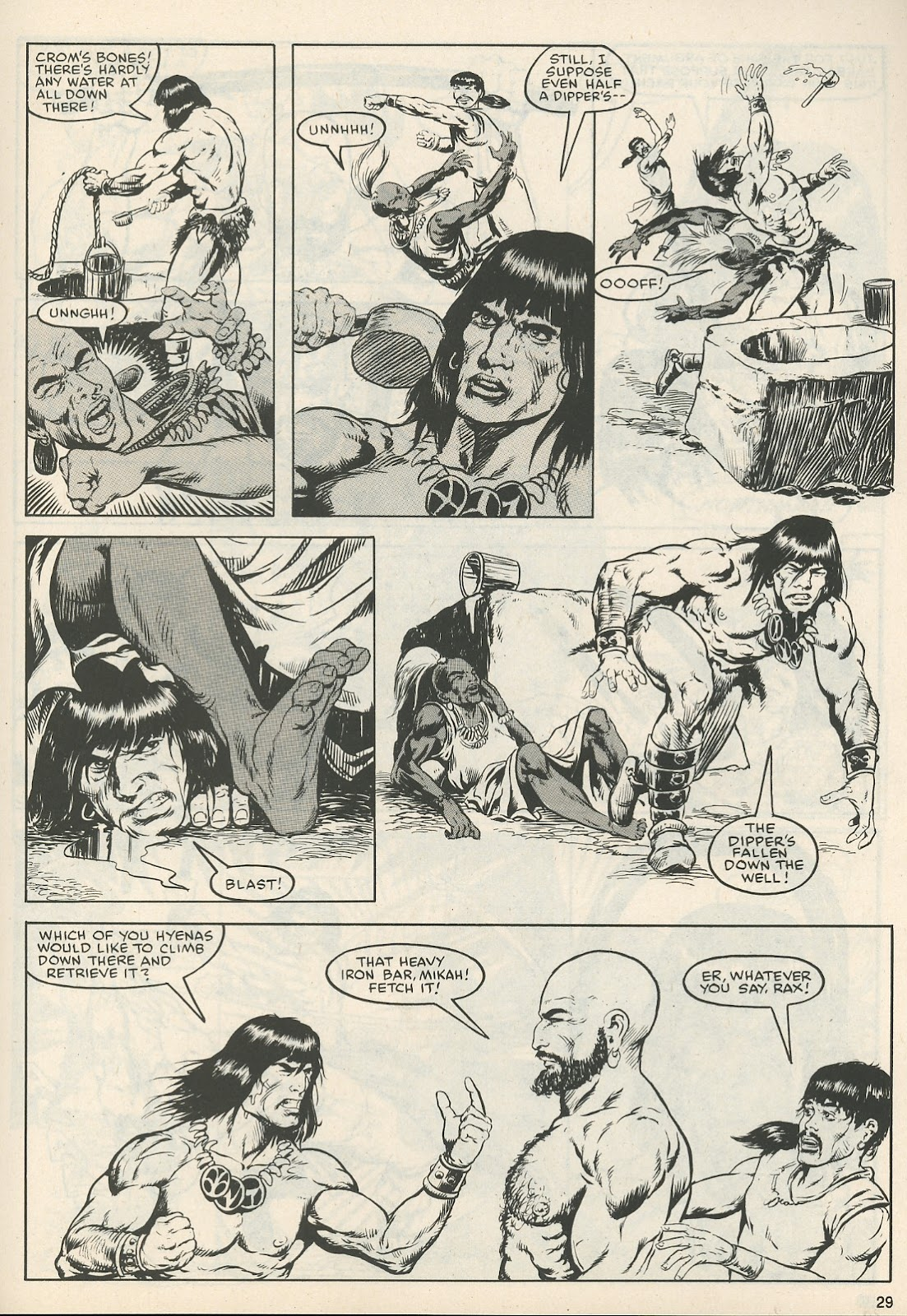The Savage Sword Of Conan Issue #111 #112 - English 30
