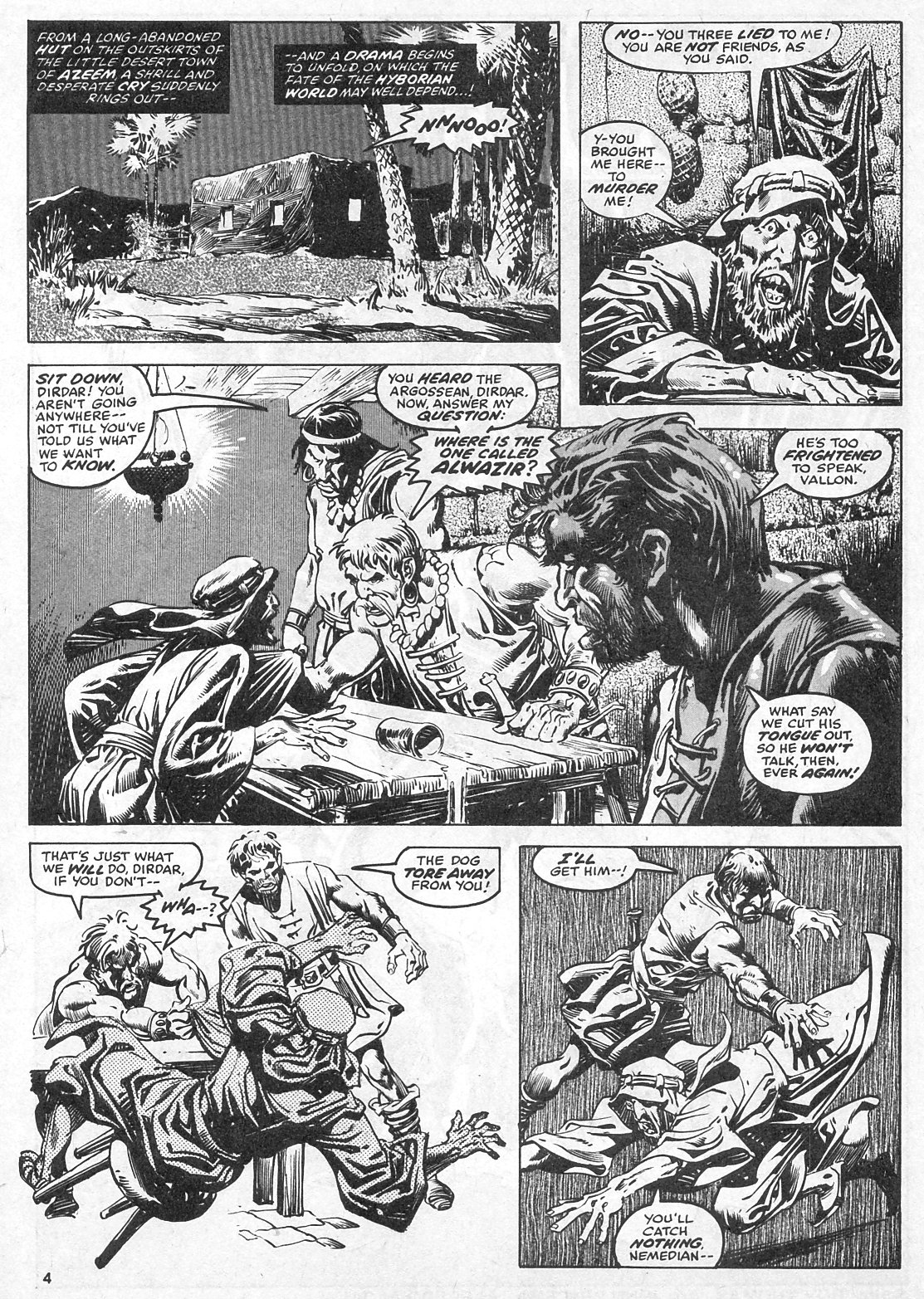 The Savage Sword Of Conan Issue #28 #29 - English 4