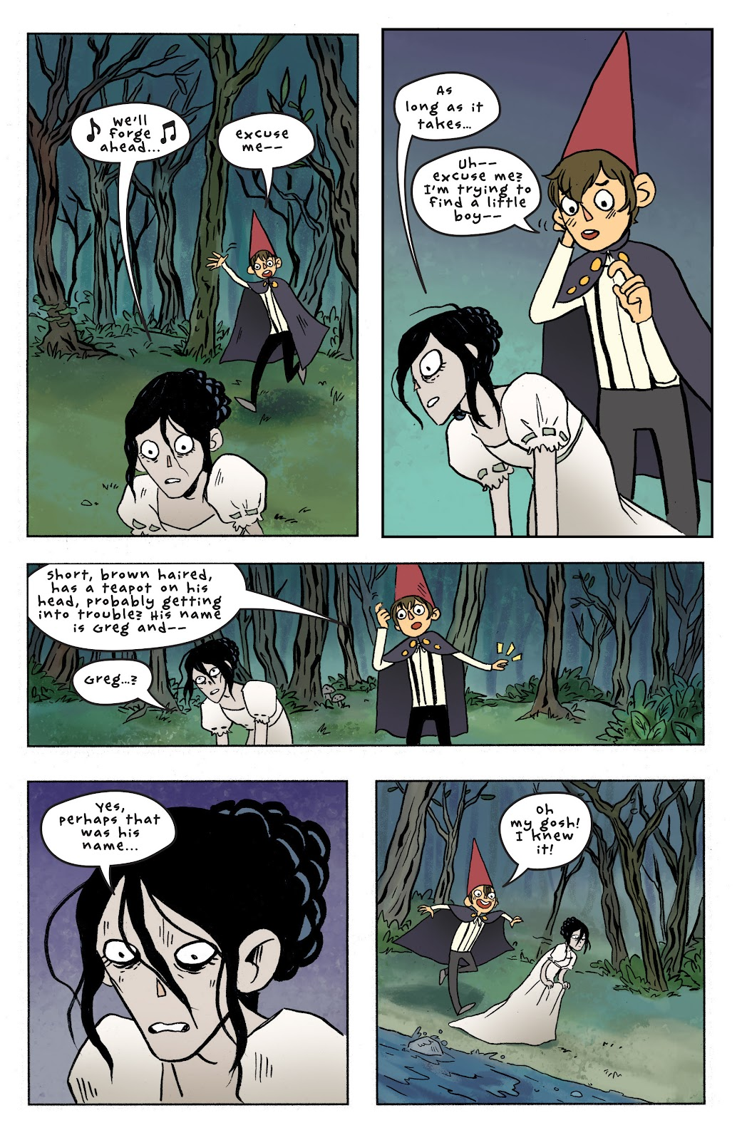 Over the Garden Wall (2016) Issue #7 #7 - English 17