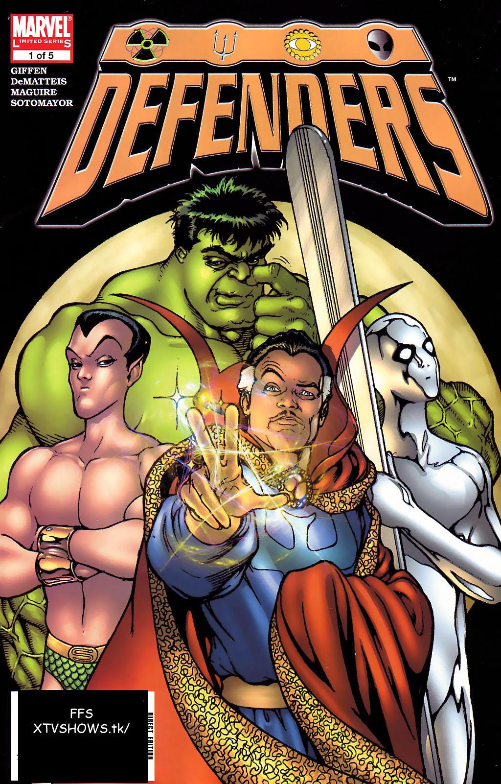 Defenders (2005) 1 Page 1
