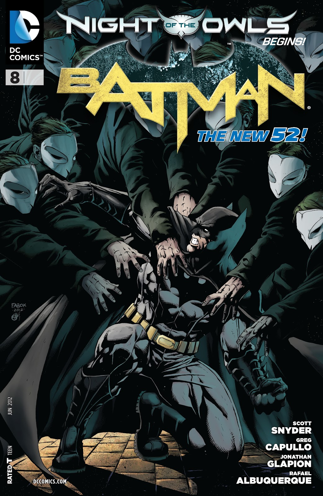 Batman (2011) Issue #8 #23 - English 29
