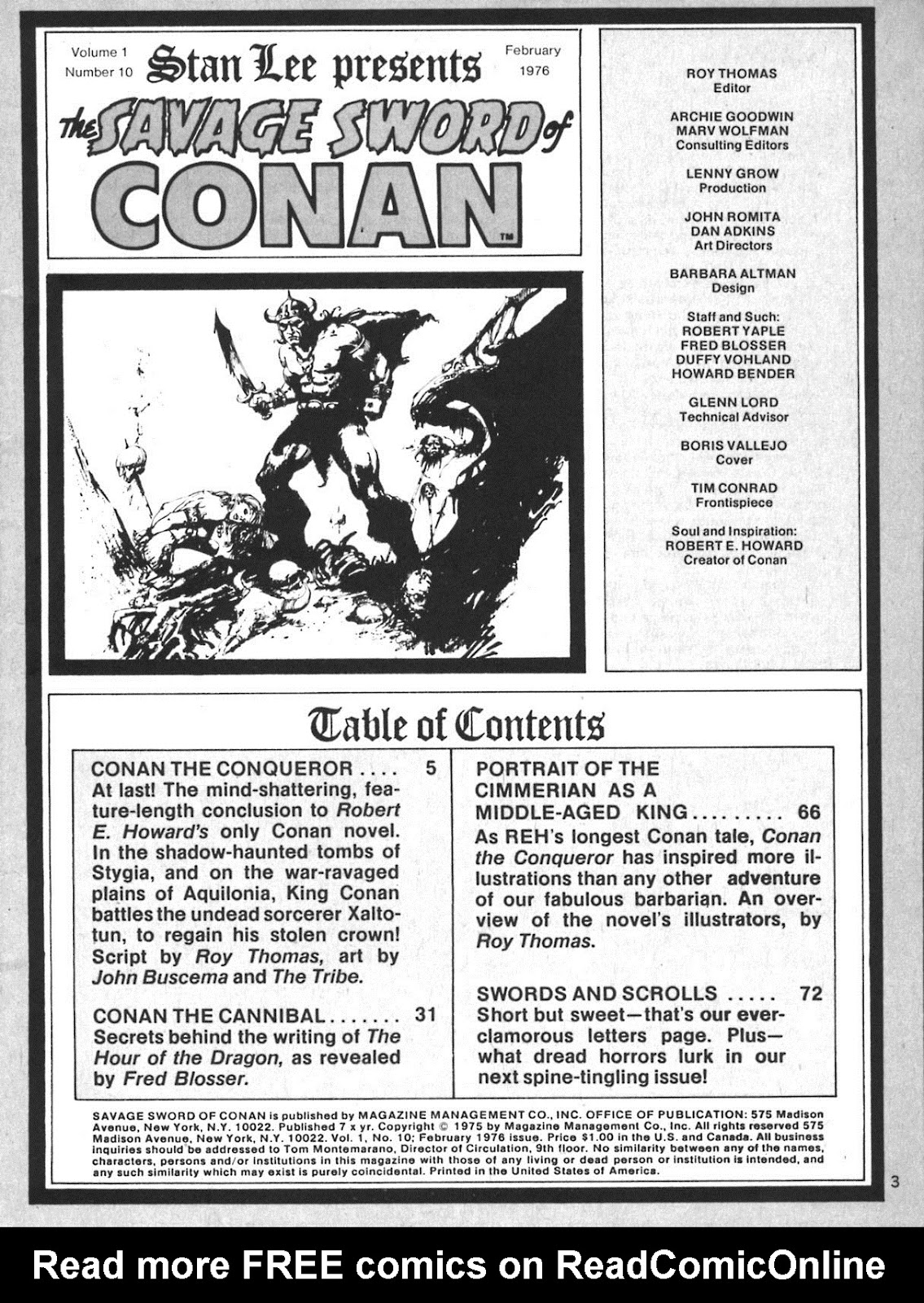 The Savage Sword Of Conan Issue #10 #11 - English 3
