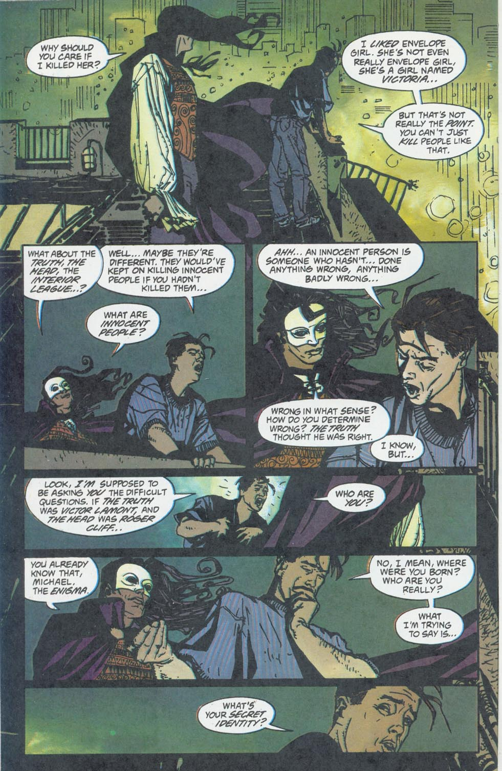 Read online Enigma comic -  Issue #6 - 17