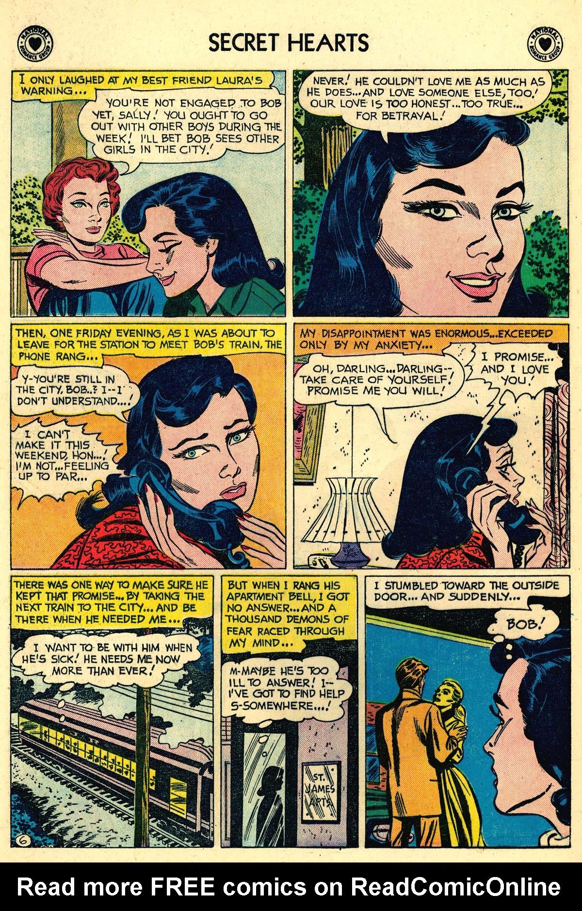 Read online Secret Hearts comic -  Issue #59 - 8