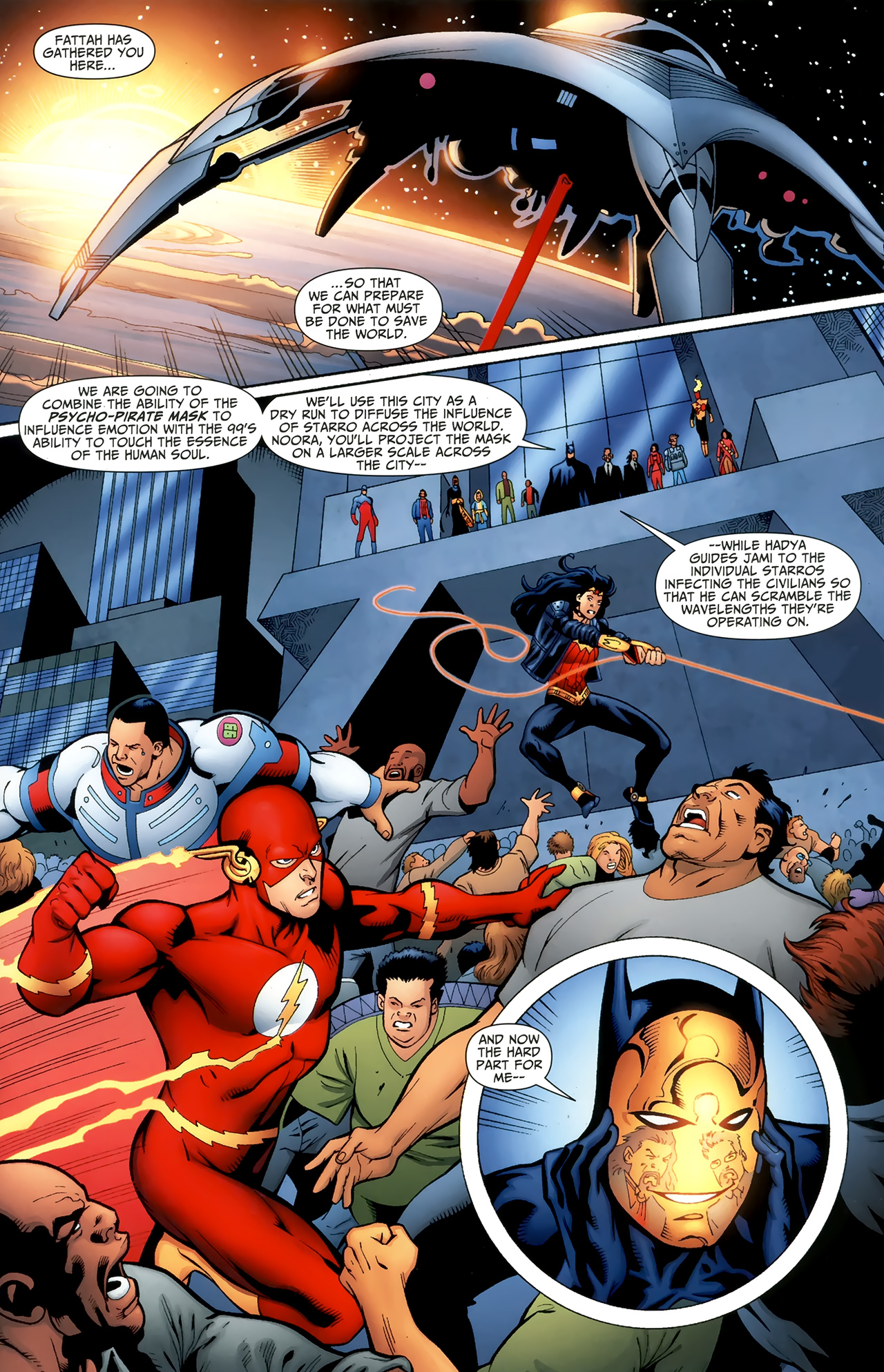 Read online Justice League of America/The 99 comic -  Issue #6 - 14