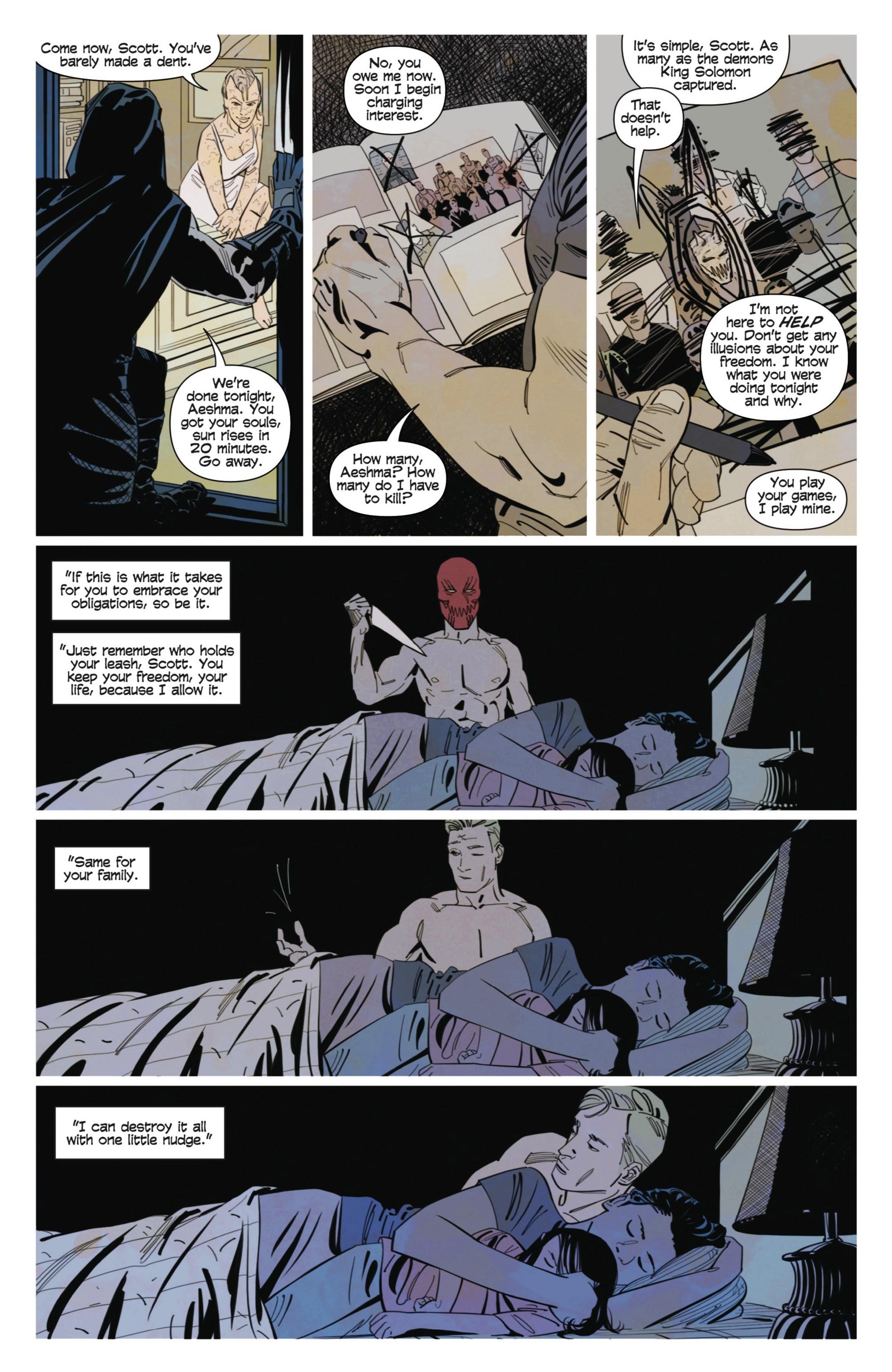 Read online Demonic comic -  Issue #3 - 6