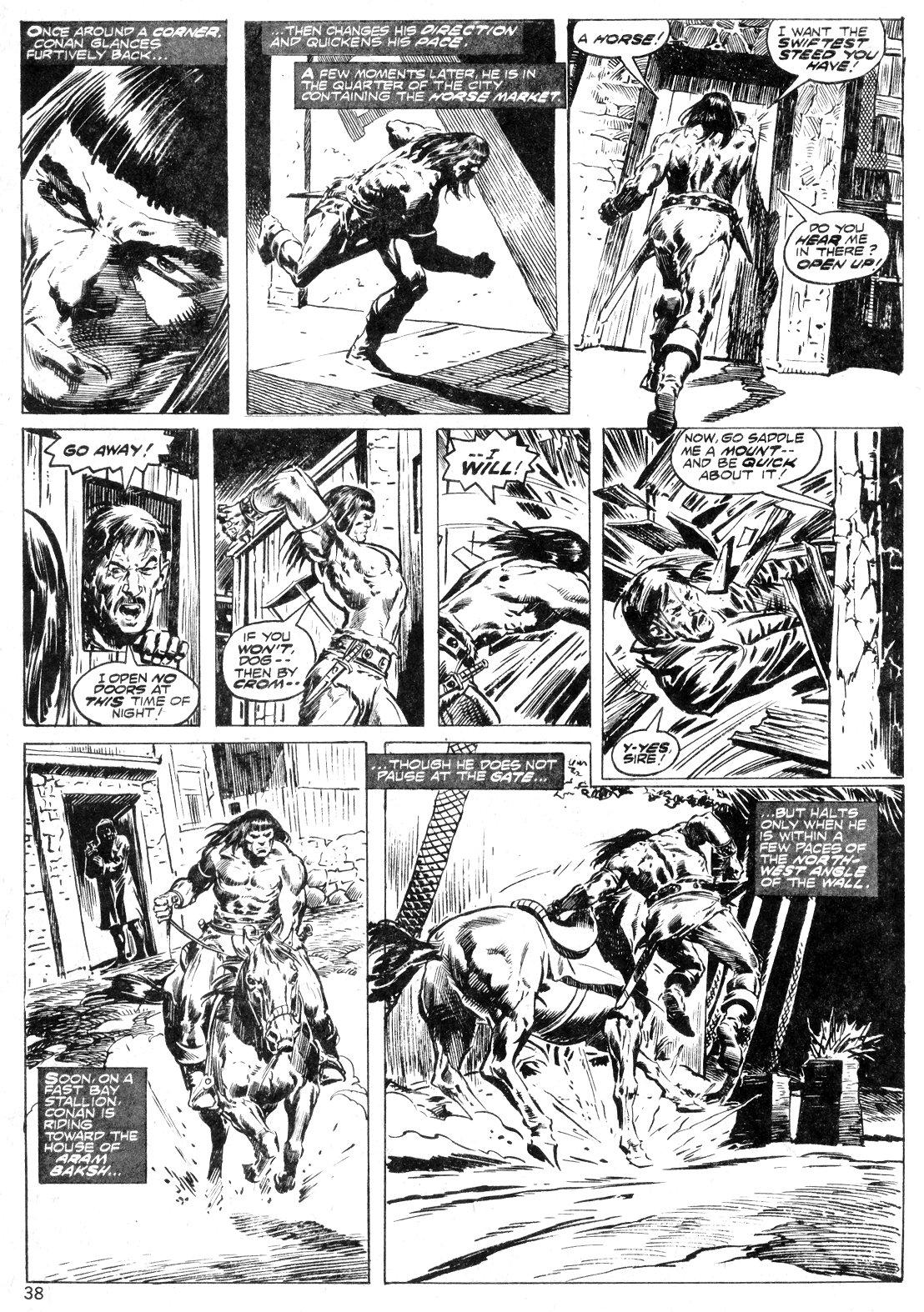 The Savage Sword Of Conan Issue #14 #15 - English 38