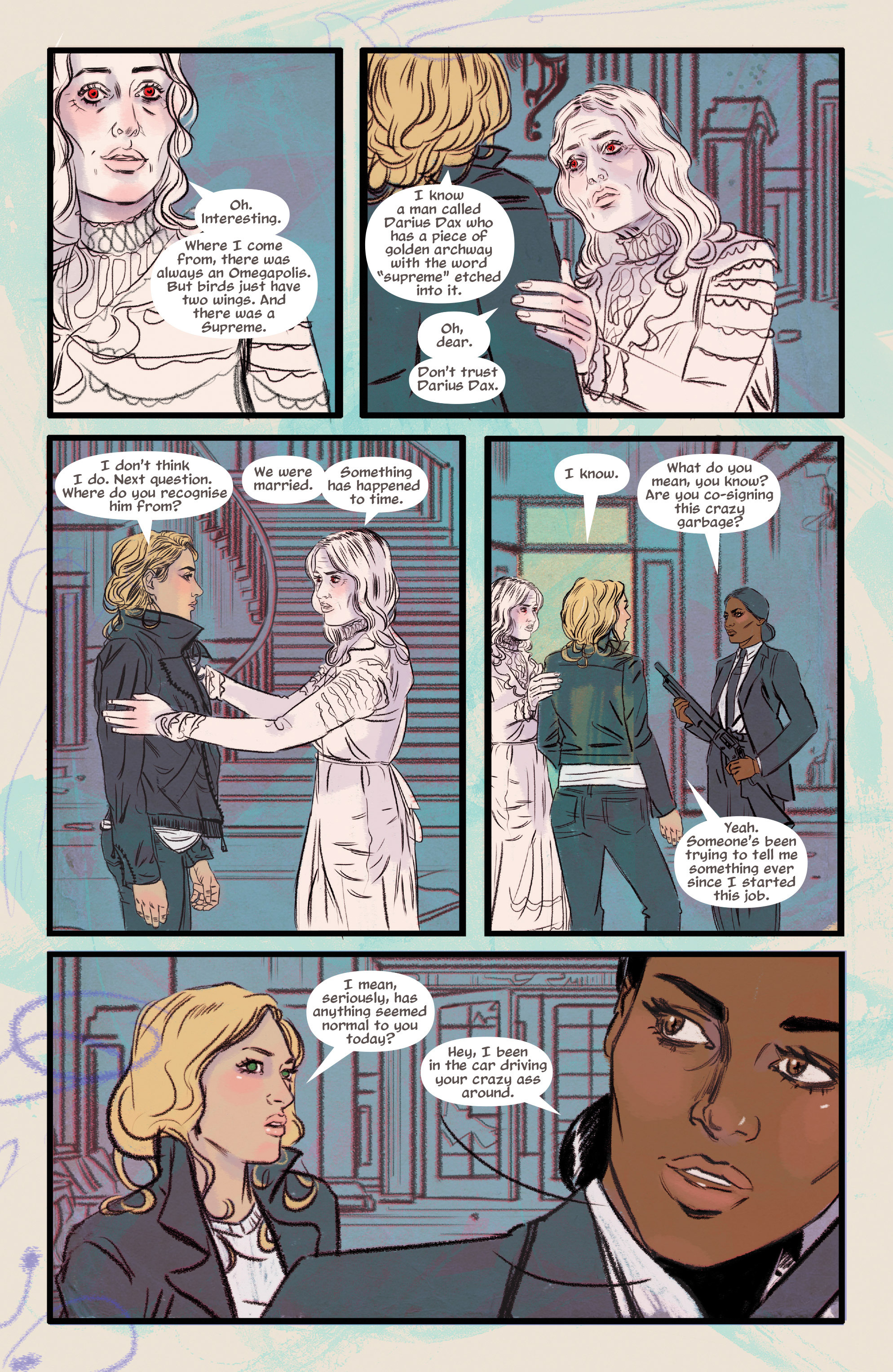 Read online Supreme Blue Rose comic -  Issue #7 - 4
