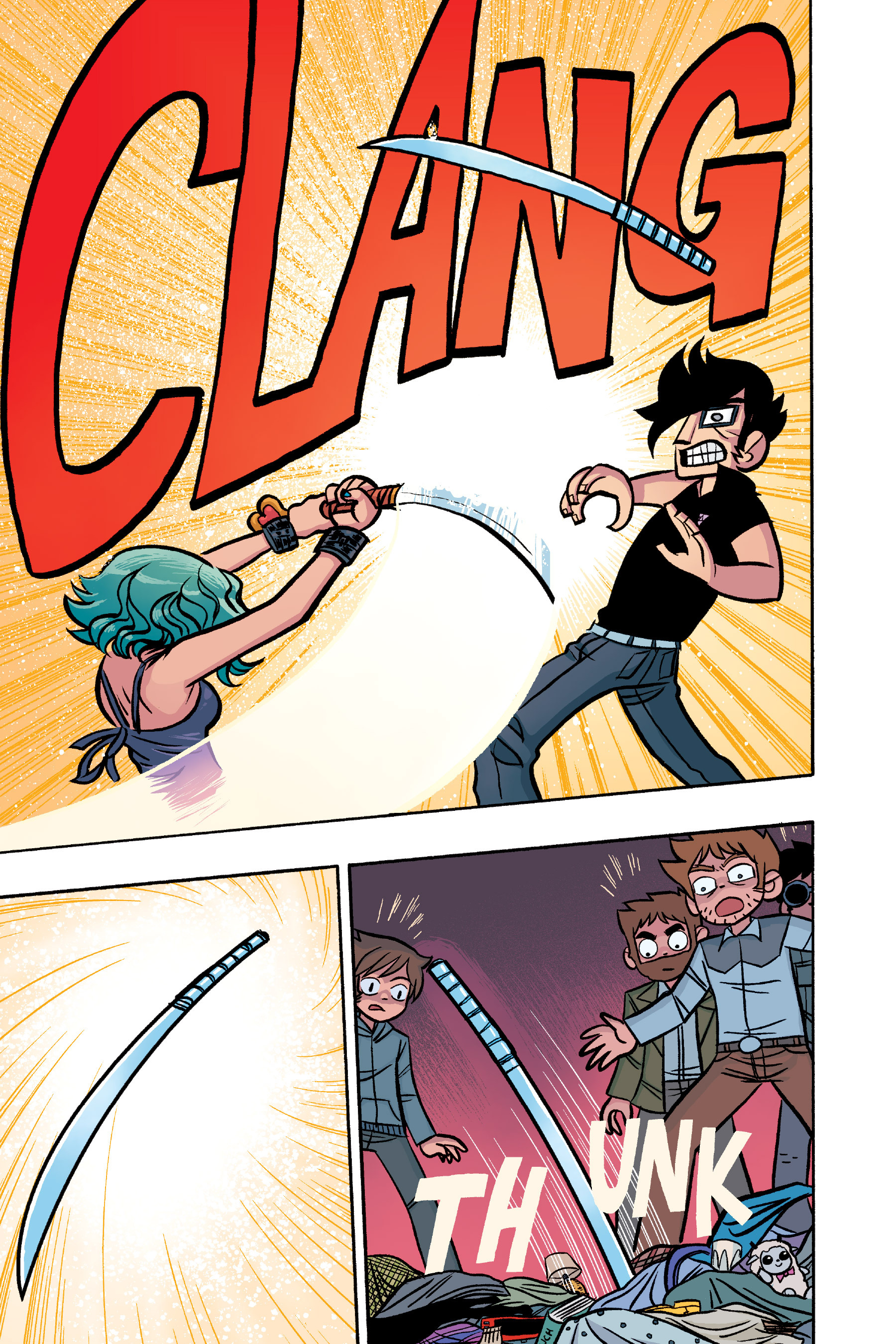 Read online Scott Pilgrim comic -  Issue #6 - 204