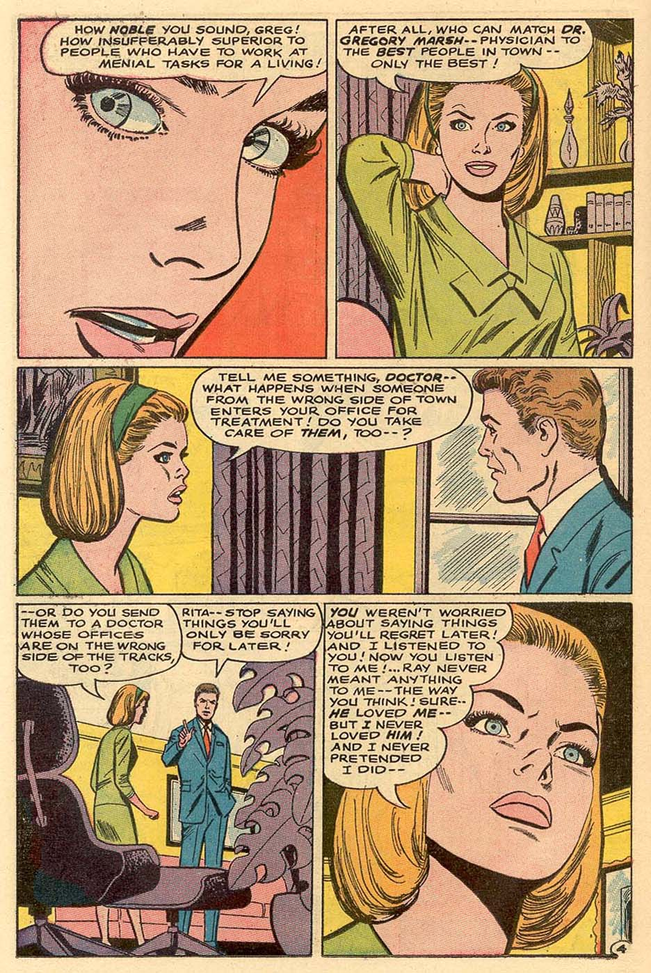Read online Secret Hearts comic -  Issue #122 - 21