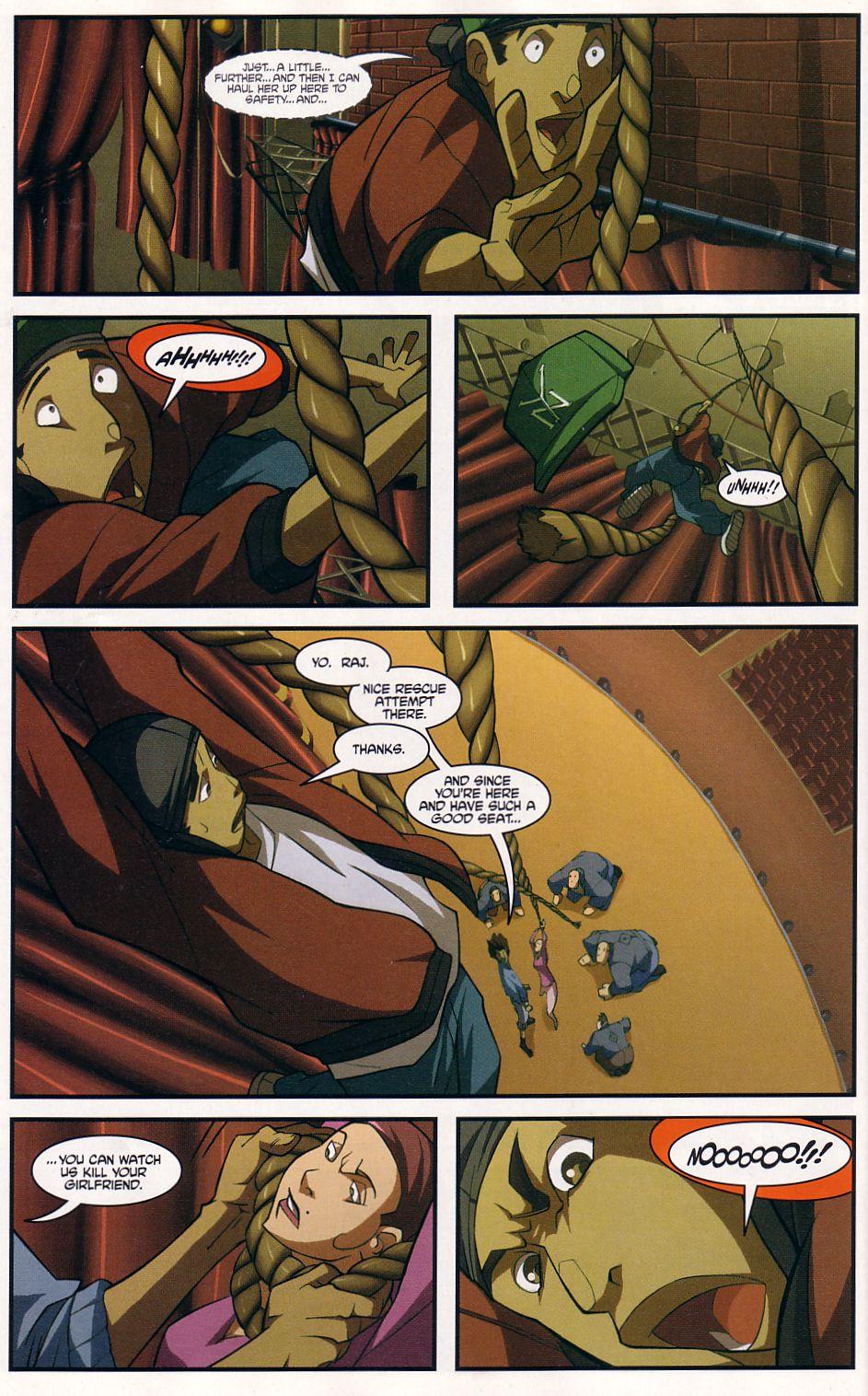 Teenage Mutant Ninja Turtles (2003) chap 7 pic 18