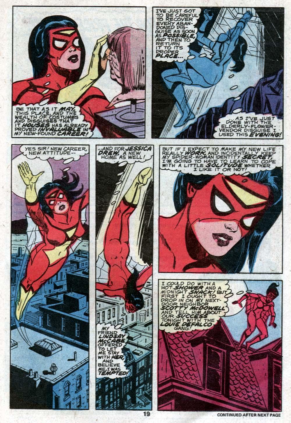Spider-Woman (1978) #21 #30 - English 12
