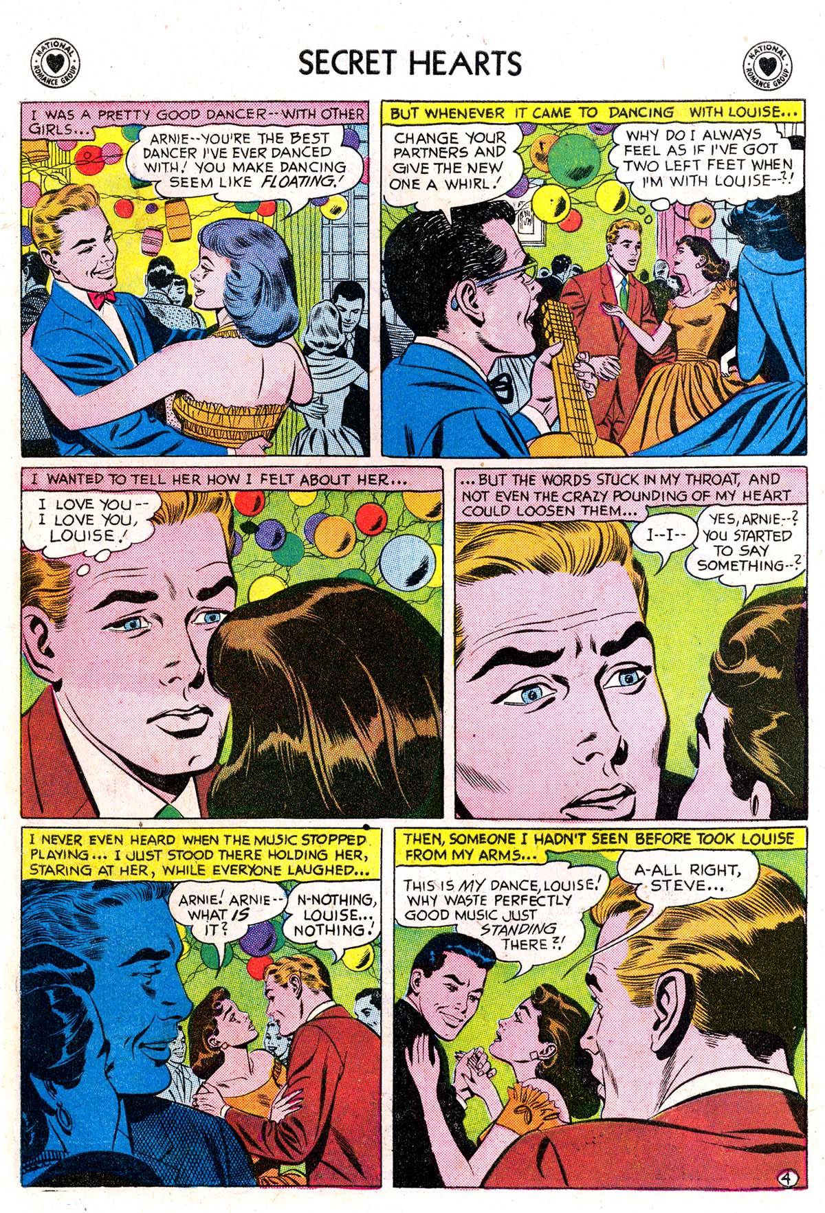 Read online Secret Hearts comic -  Issue #42 - 30