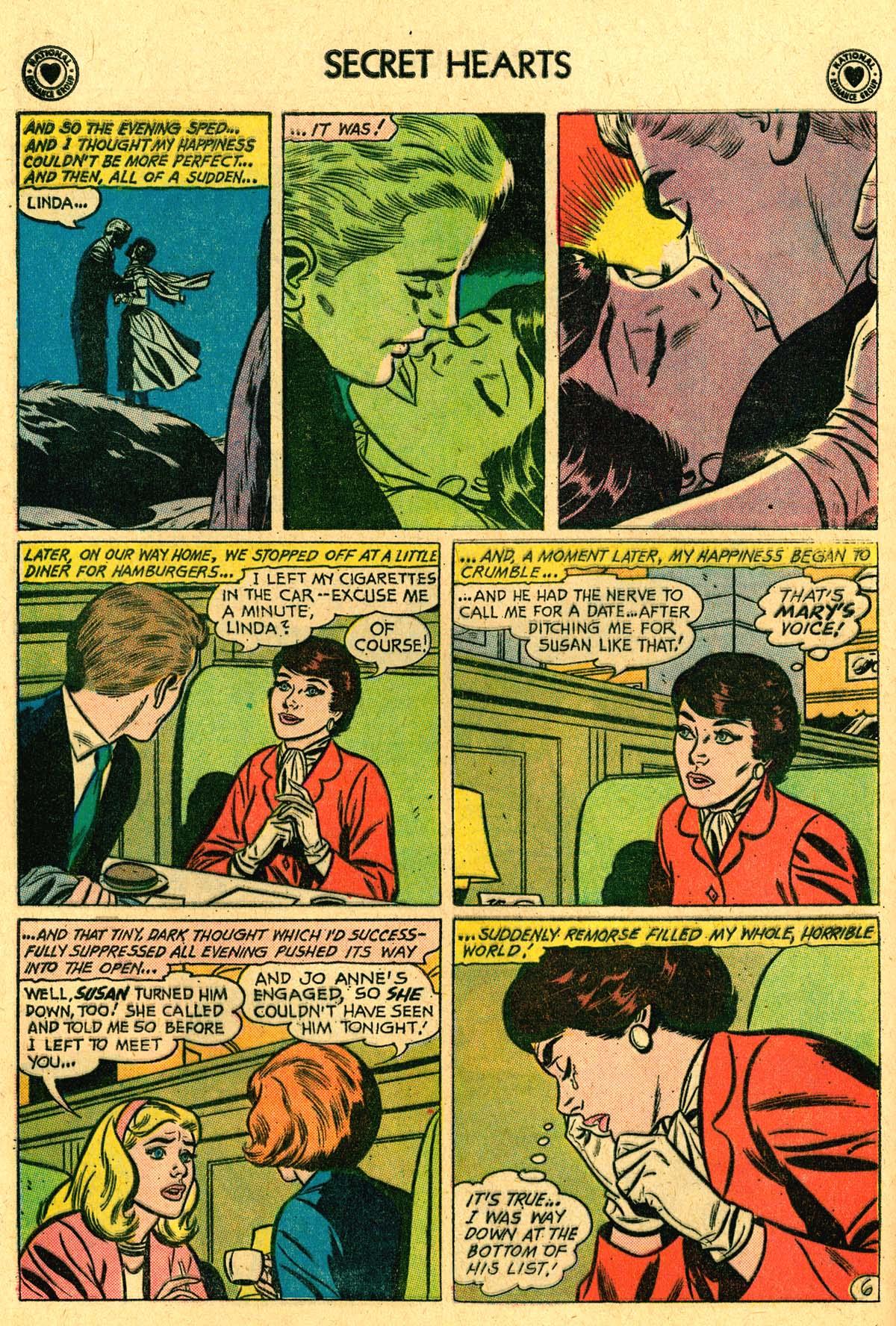 Read online Secret Hearts comic -  Issue #69 - 16