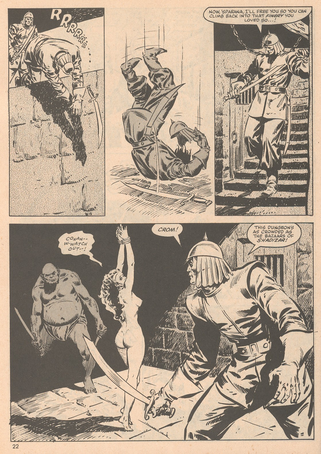 The Savage Sword Of Conan Issue #58 #59 - English 23