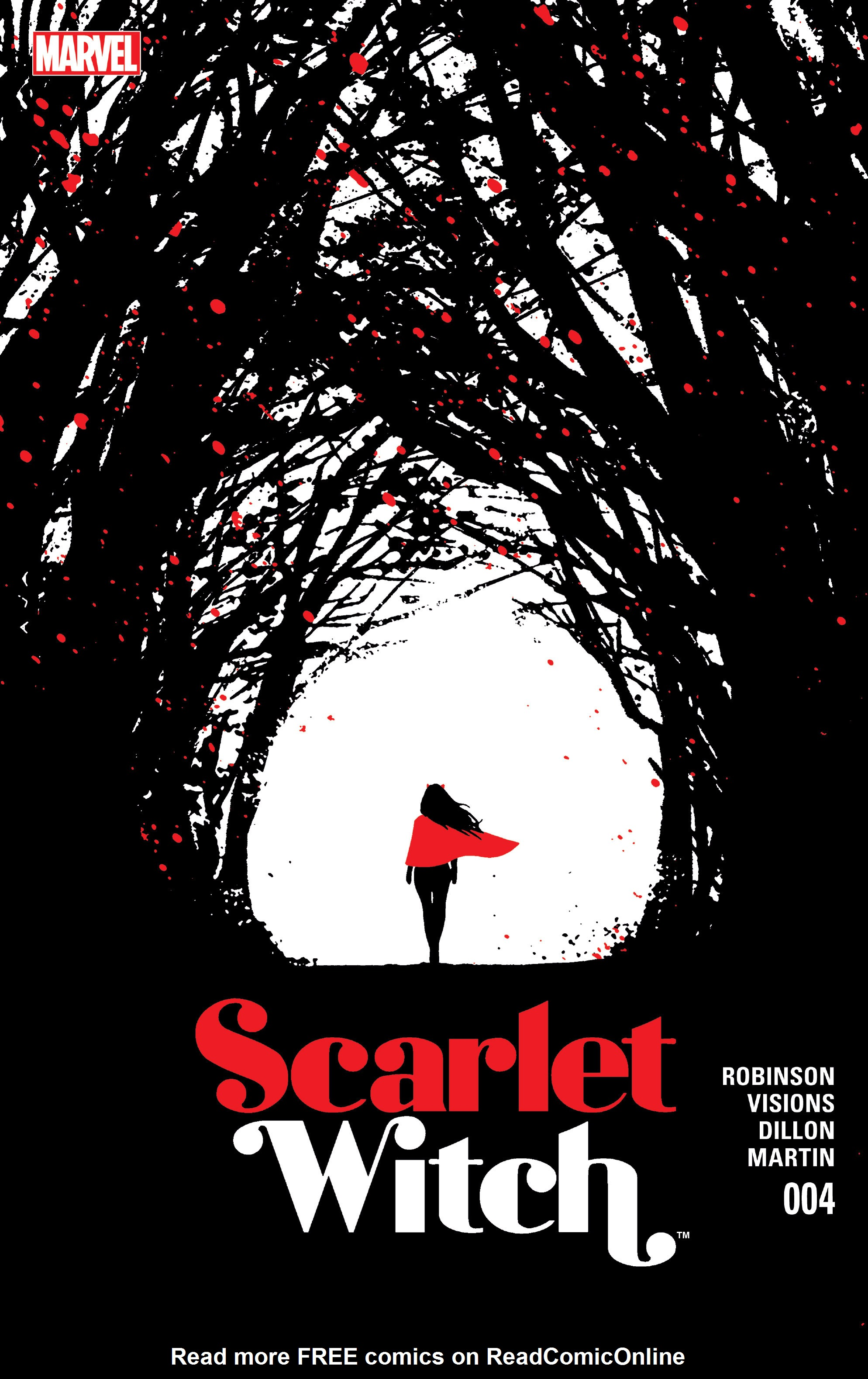 Read online Scarlet Witch (2016) comic -  Issue #4 - 1