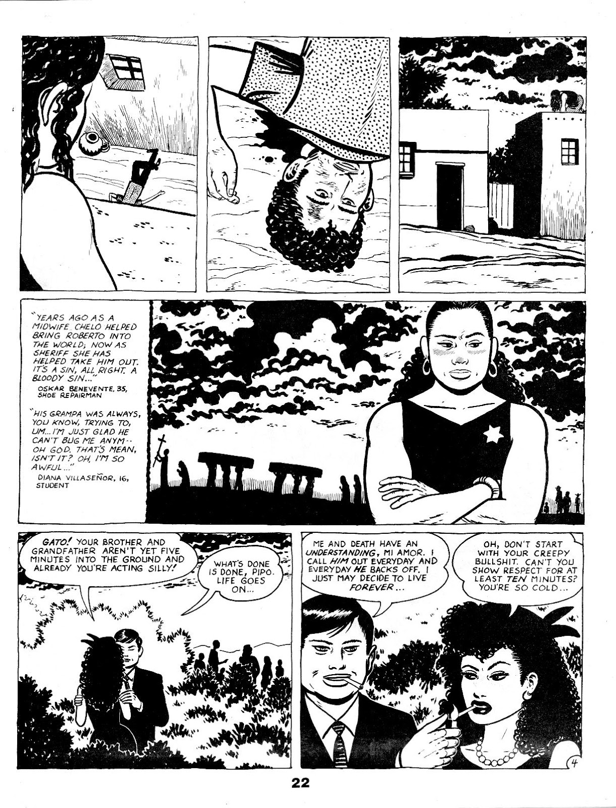 Love and Rockets (1982) Issue #17 #16 - English 24
