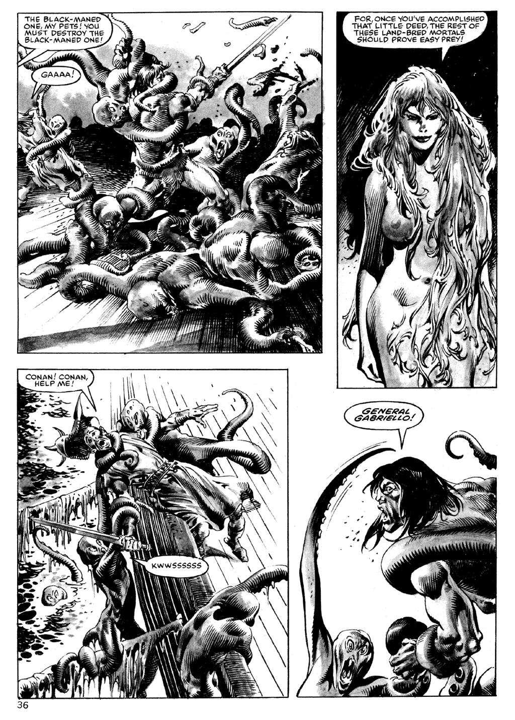 The Savage Sword Of Conan Issue #101 #102 - English 36