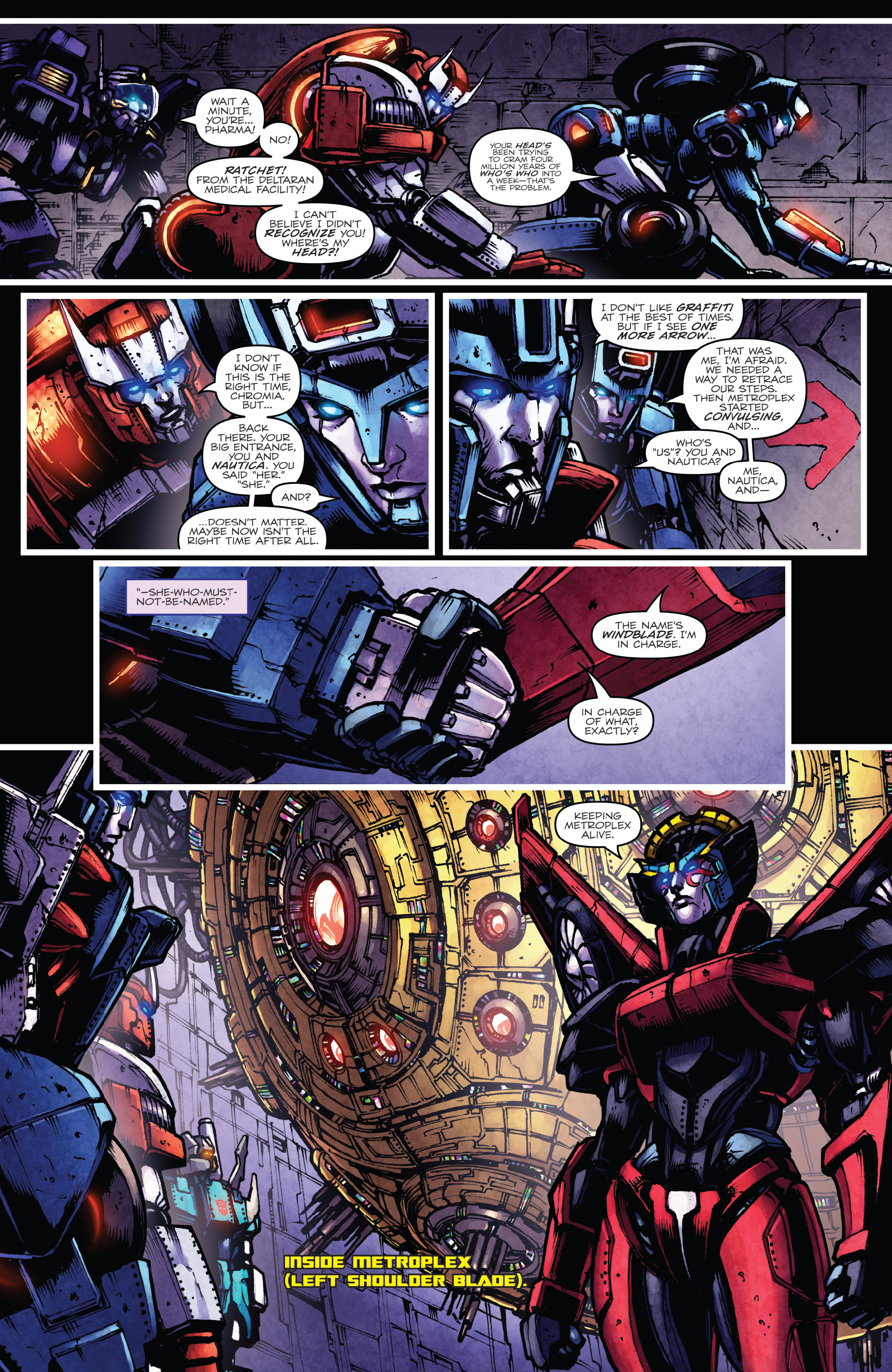 Read online The Transformers: Dark Cybertron Finale comic -  Issue # Full - 37