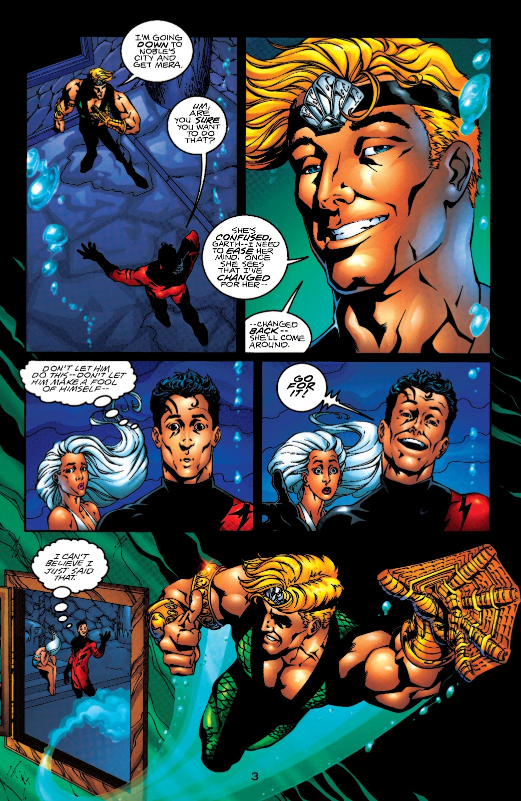 Aquaman (1994) Issue #55 #61 - English 4