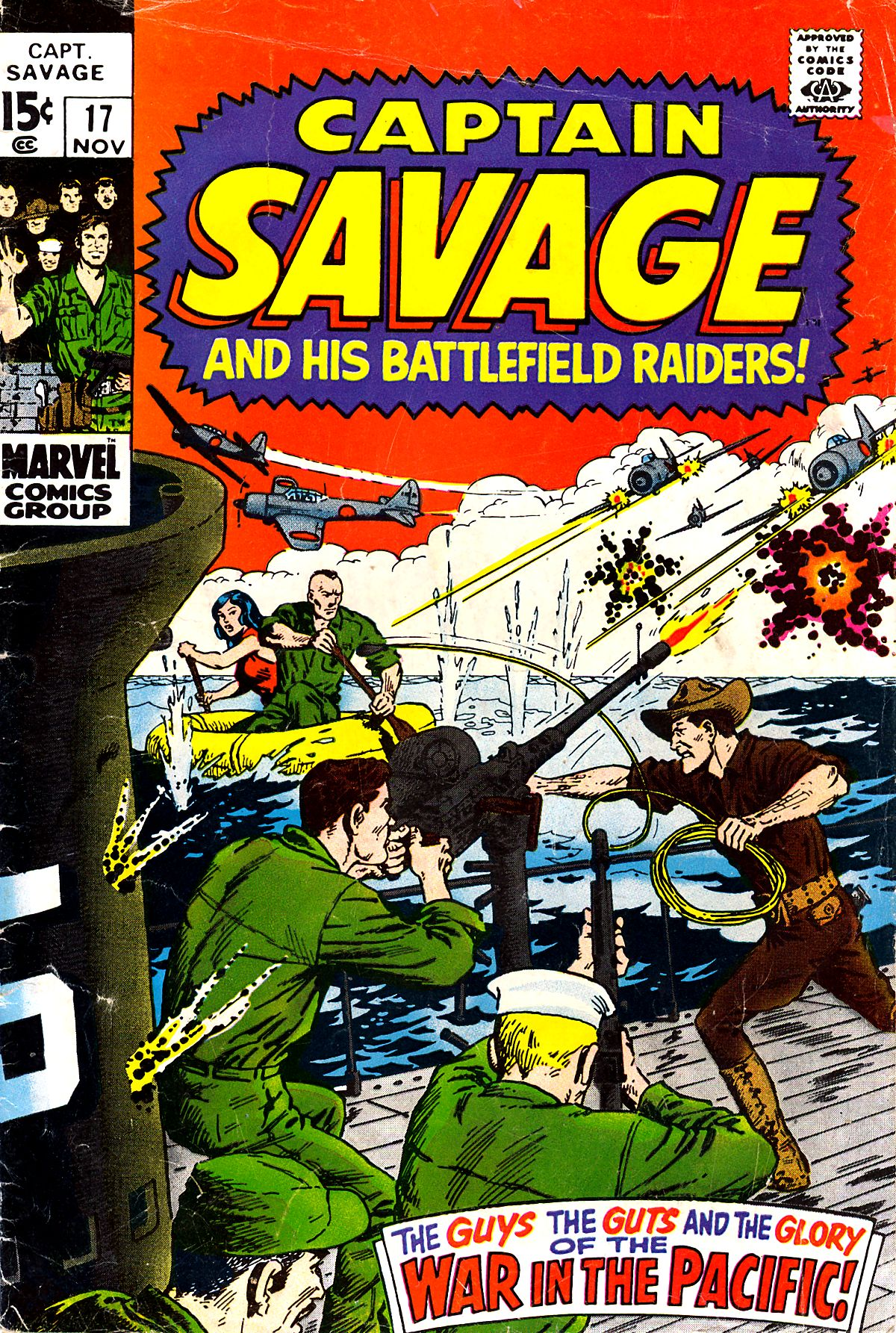 Captain Savage and his Leatherneck Raiders 17 Page 1