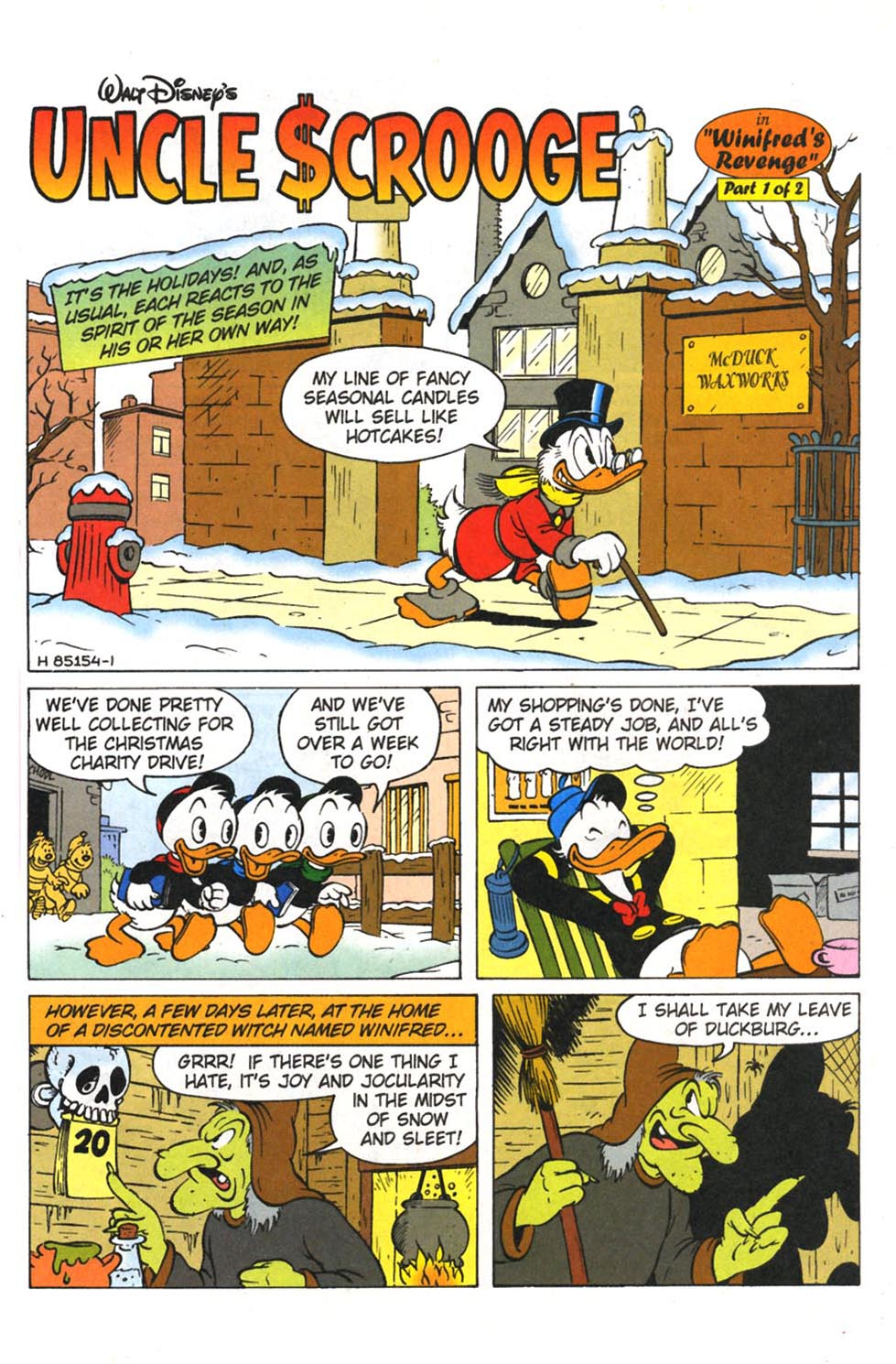 Uncle Scrooge (1953) Issue #308 #308 - English 3