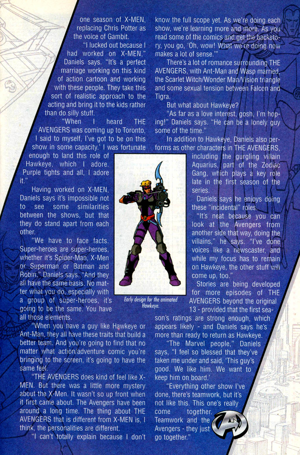 Read online Avengers United They Stand comic -  Issue #4 - 24