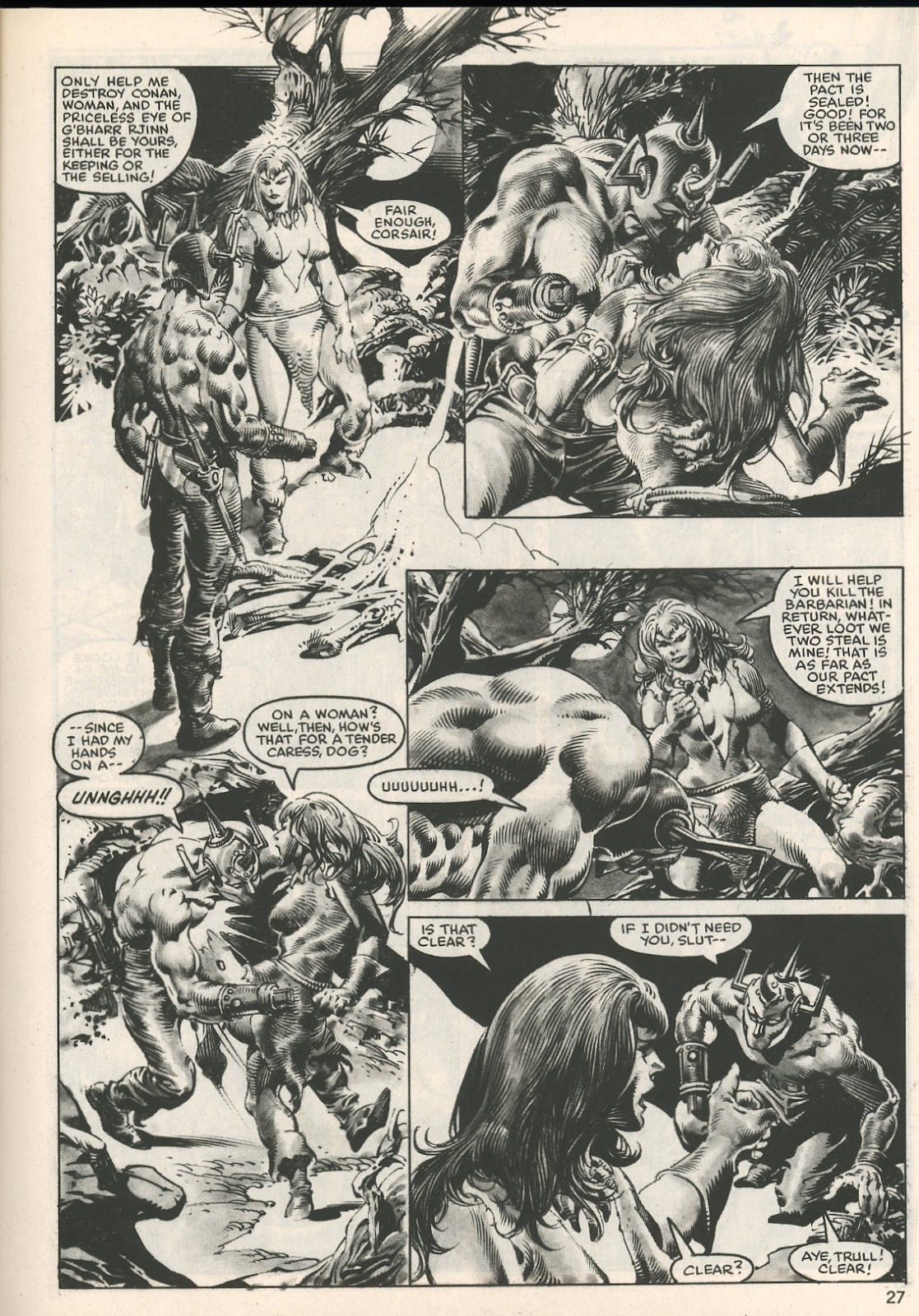 The Savage Sword Of Conan Issue #107 #108 - English 27