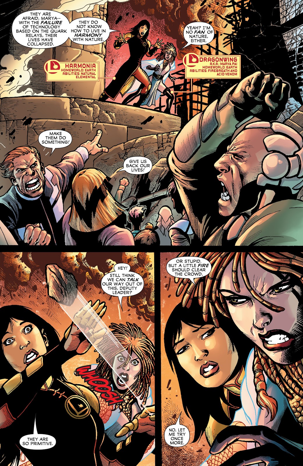 Legion of Super-Heroes (2011) Issue #18 #19 - English 3