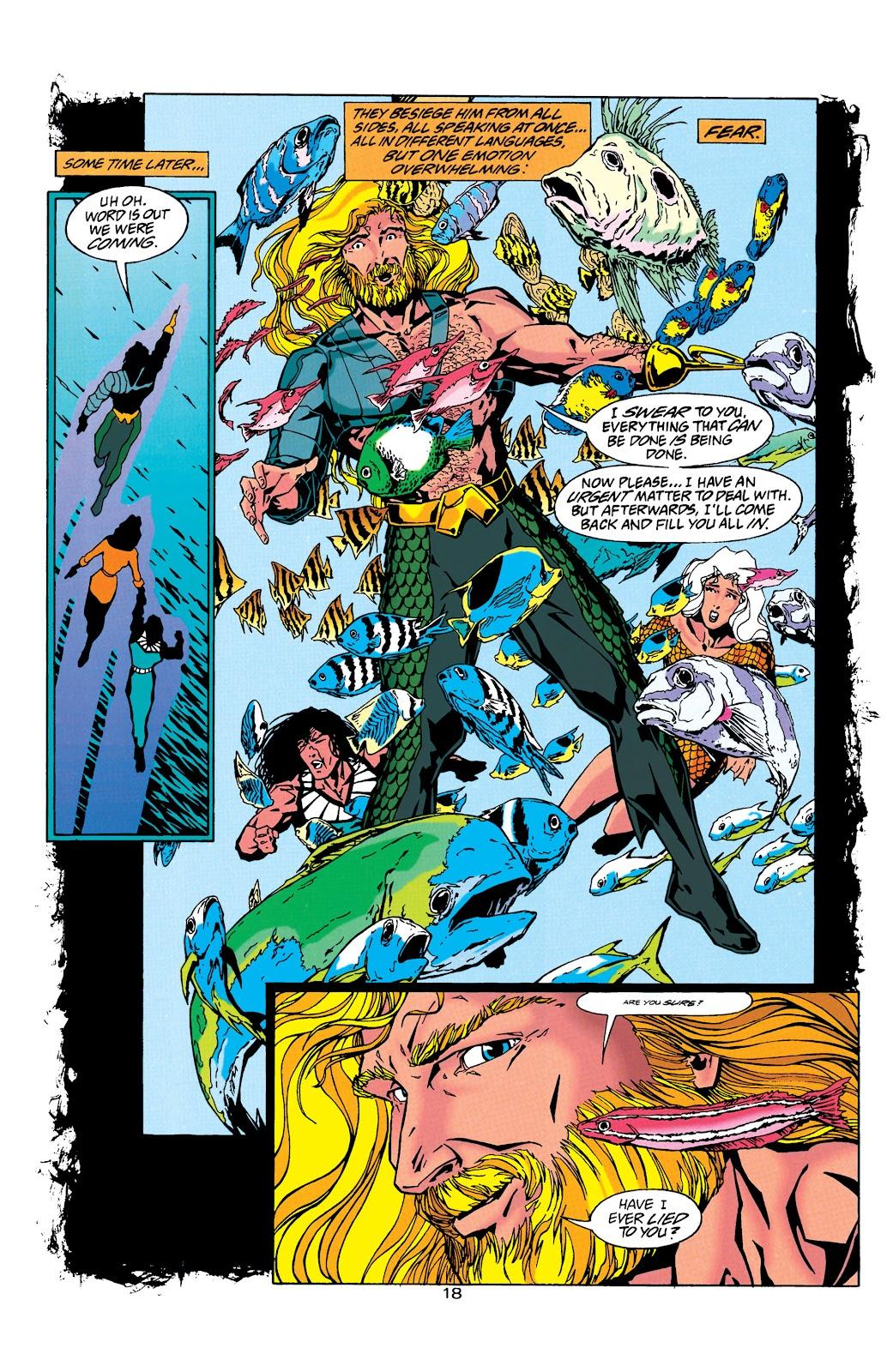 Aquaman (1994) Issue #26 #32 - English 19