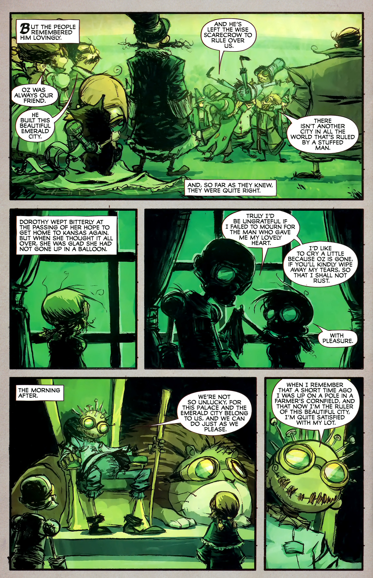Read online The Wonderful Wizard of Oz comic -  Issue #7 - 14