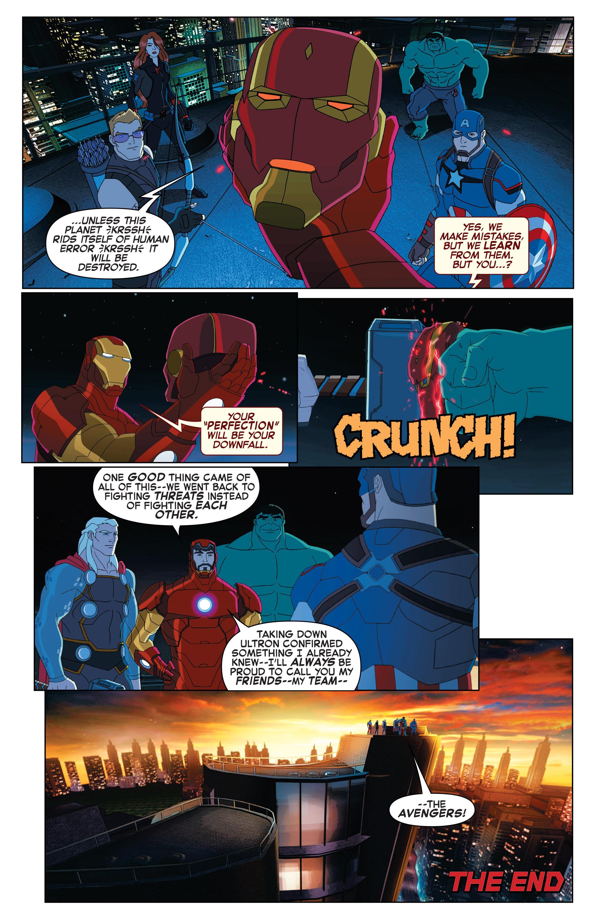 Read online Marvel Universe Avengers: Ultron Revolution comic -  Issue #2 - 22
