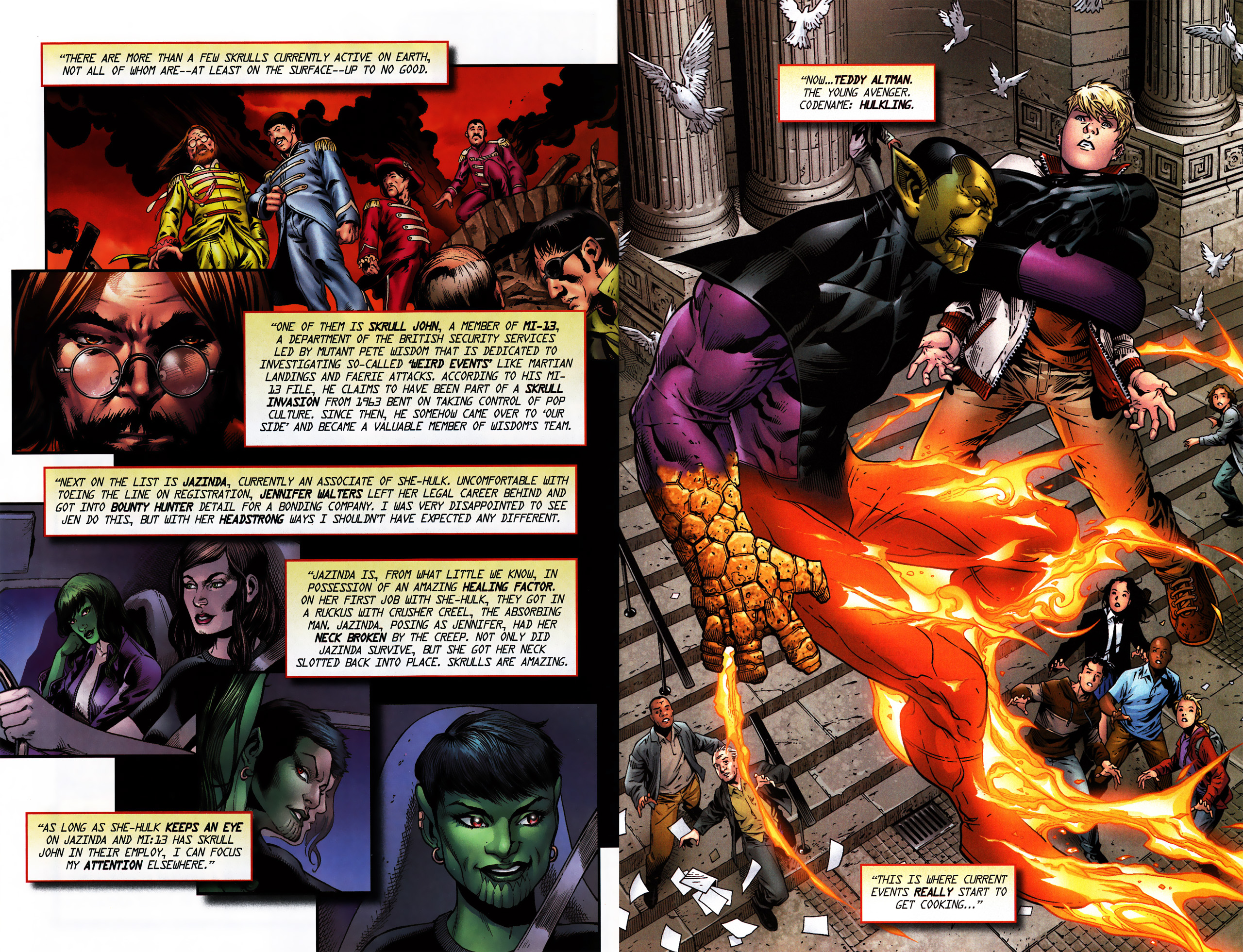 Read online Secret Invasion Saga comic -  Issue # Full - 20