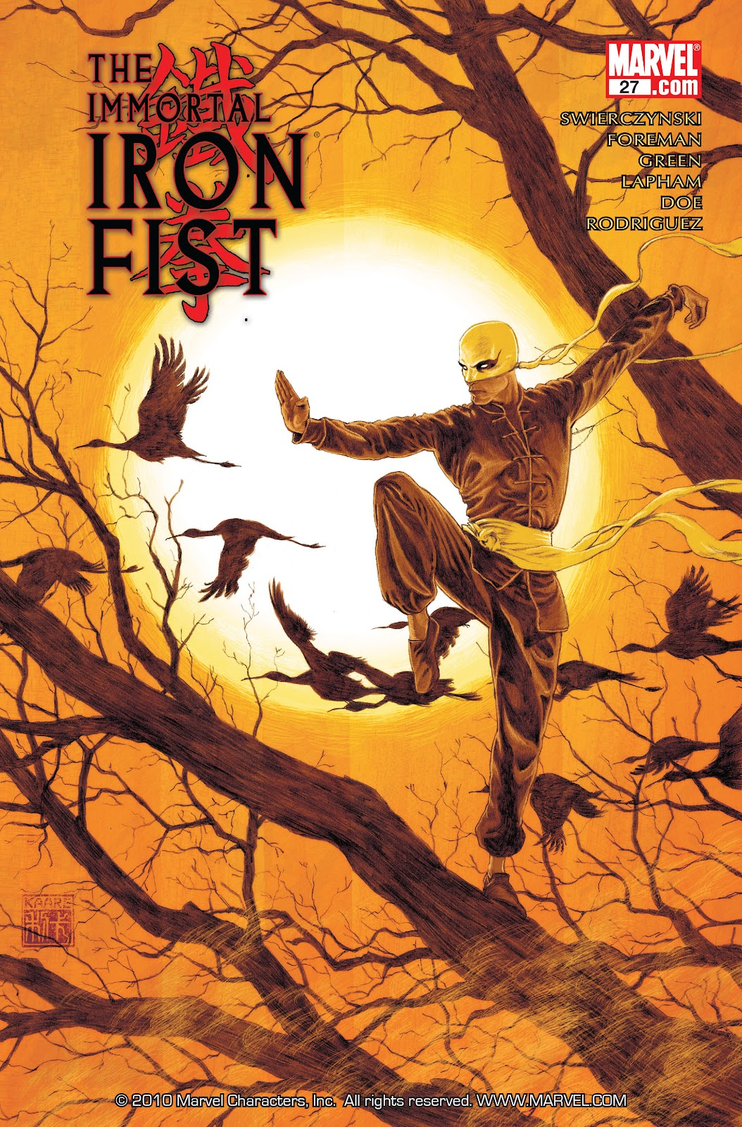 The Immortal Iron Fist Issue #27 #28 - English 1