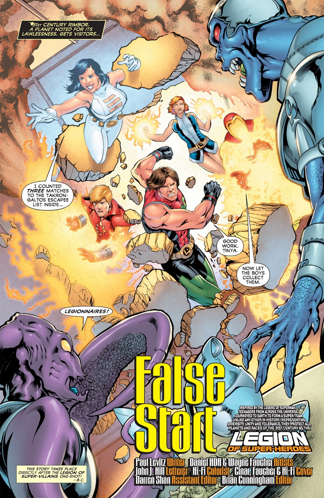 Legion of Super-Heroes (2010) Issue #11 #12 - English 2