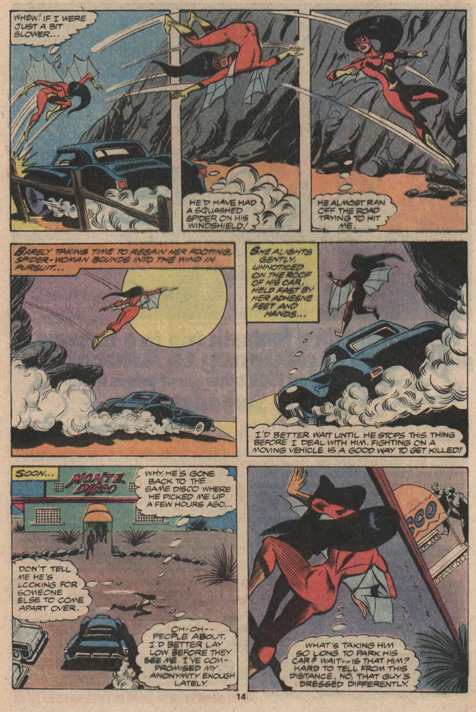 Spider-Woman (1978) #18 #33 - English 9